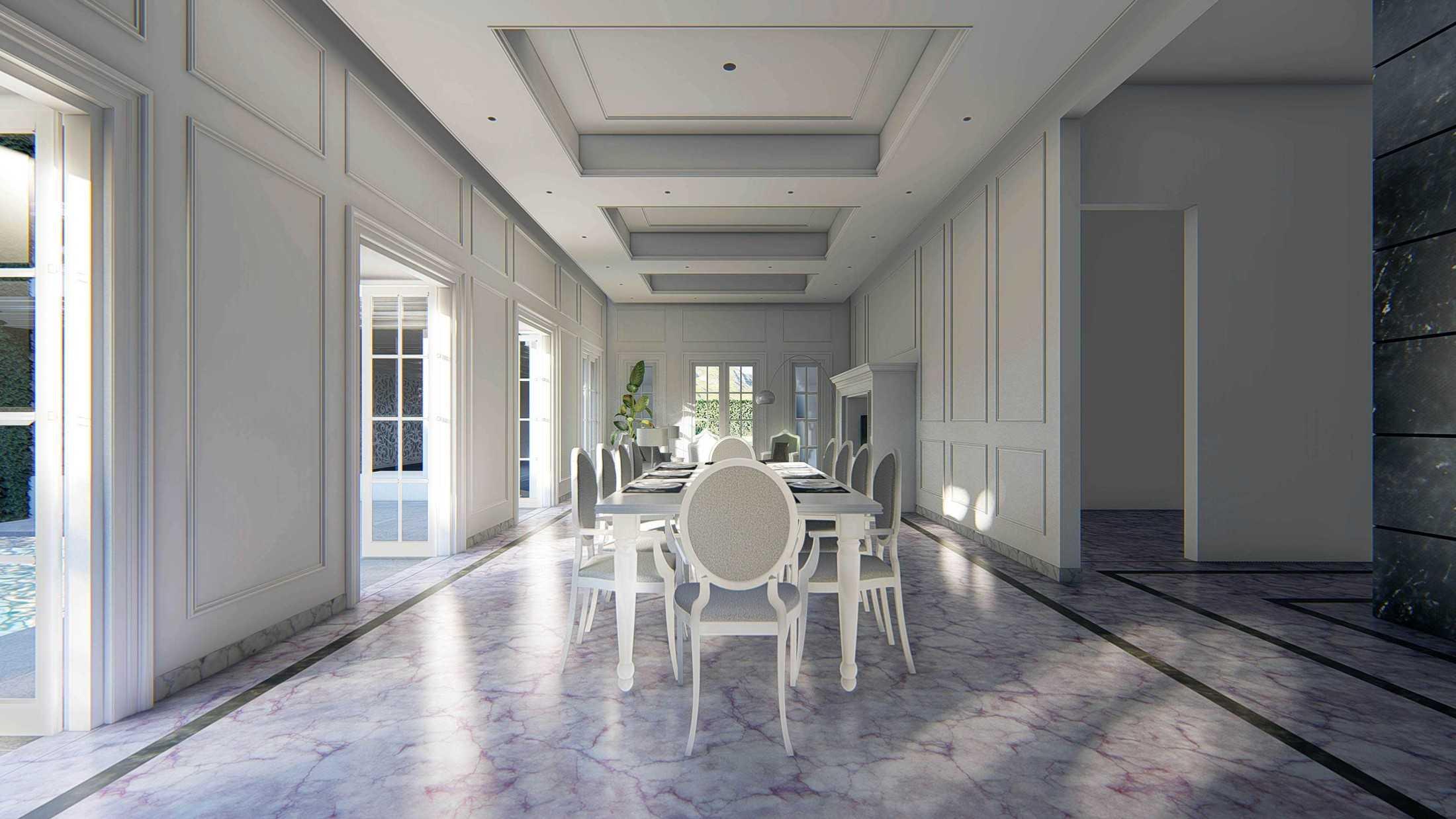 Mahastudio & Partner Hidden Palace House Bogor, Jawa Barat, Indonesia Bogor, Jawa Barat, Indonesia American Style Dining Room  64166