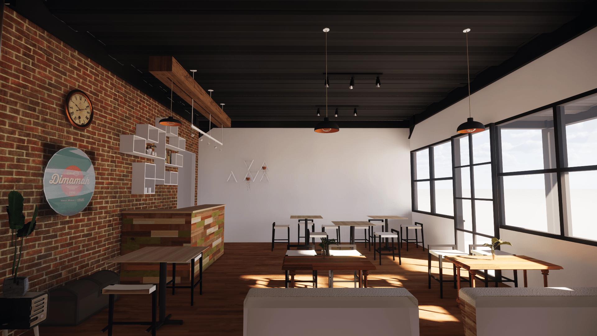 Menata Kolaboratif Studio Cafe Dimamah Bogor Bogor, Jawa Barat, Indonesia Bogor, Jawa Barat, Indonesia Menata-Kolaboratif-Studio-Cafe-Dimamah-Bogor  103968