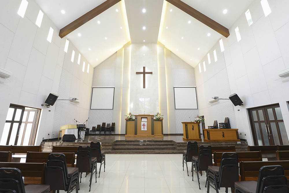 Project Gereja Kristus Cibinong Desain Arsitek Oleh