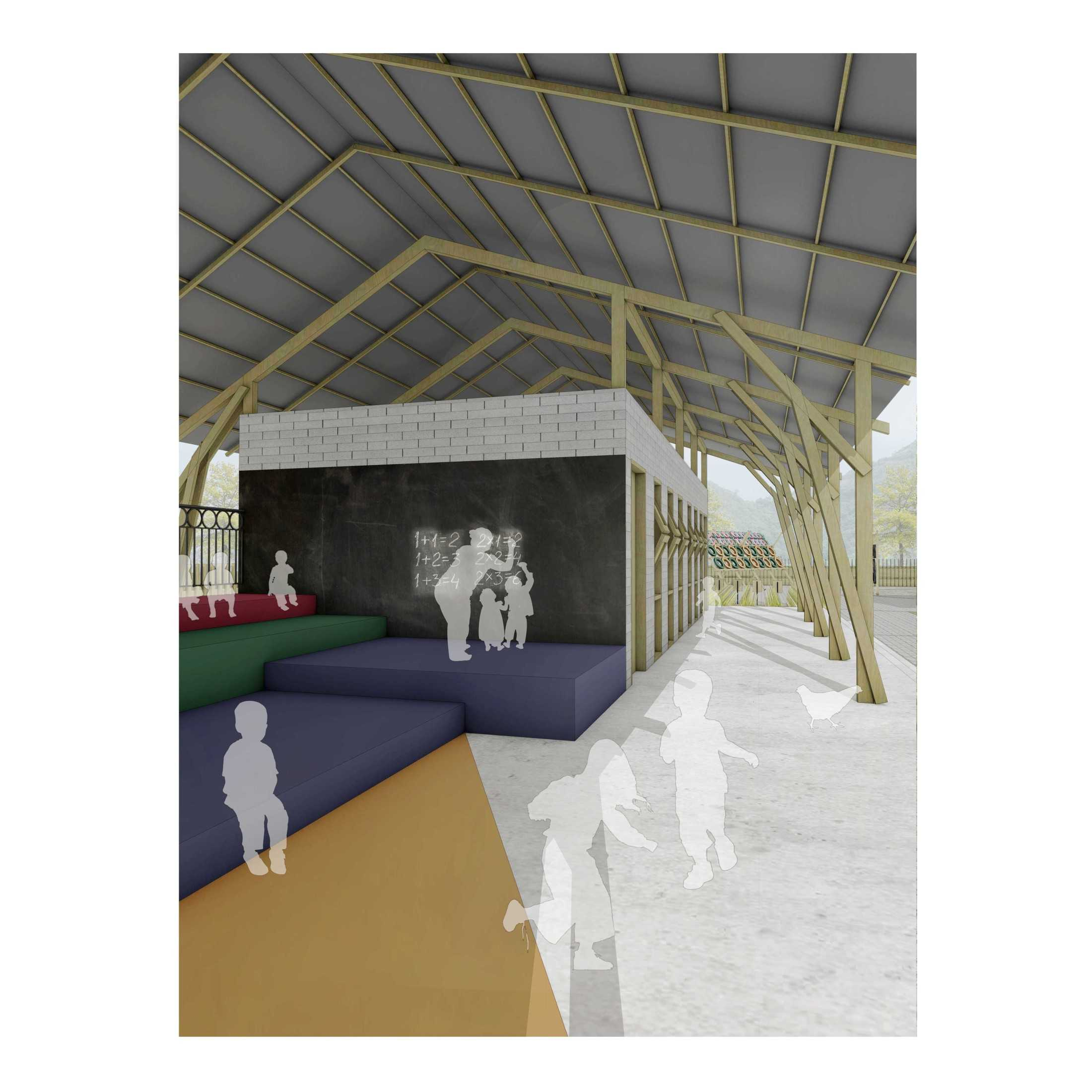 Studiogra/ph Architects Mentari School Kabupaten Tapanuli Utara, Sumatera Utara, Indonesia Kabupaten Tapanuli Utara, Sumatera Utara, Indonesia Studiograph-Architects-Mentari-School  110051