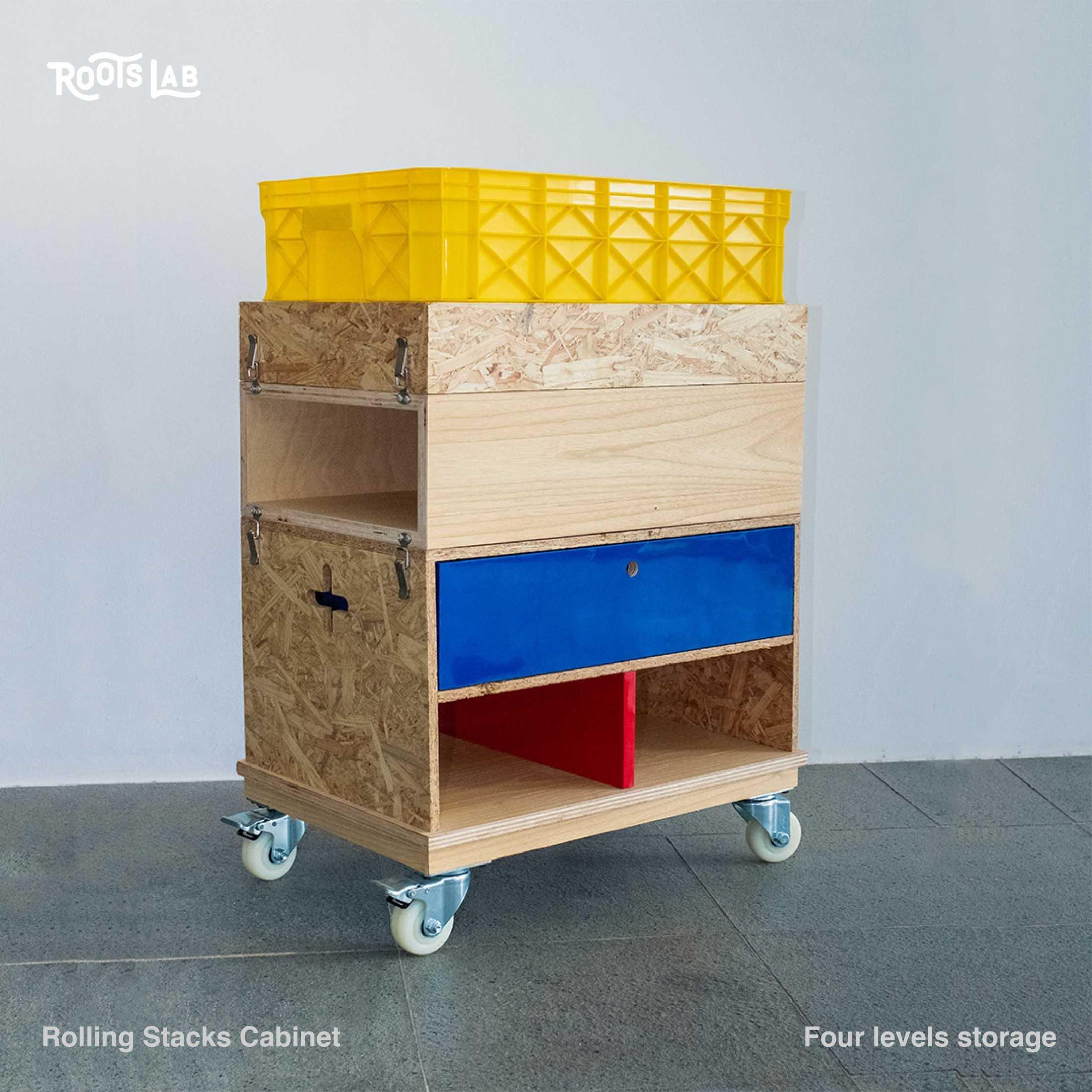 Rootslab Furniture & Craft Project Bekasi, Kota Bks, Jawa Barat, Indonesia Bekasi, Kota Bks, Jawa Barat, Indonesia Rolling Stacks Cabinet  113031