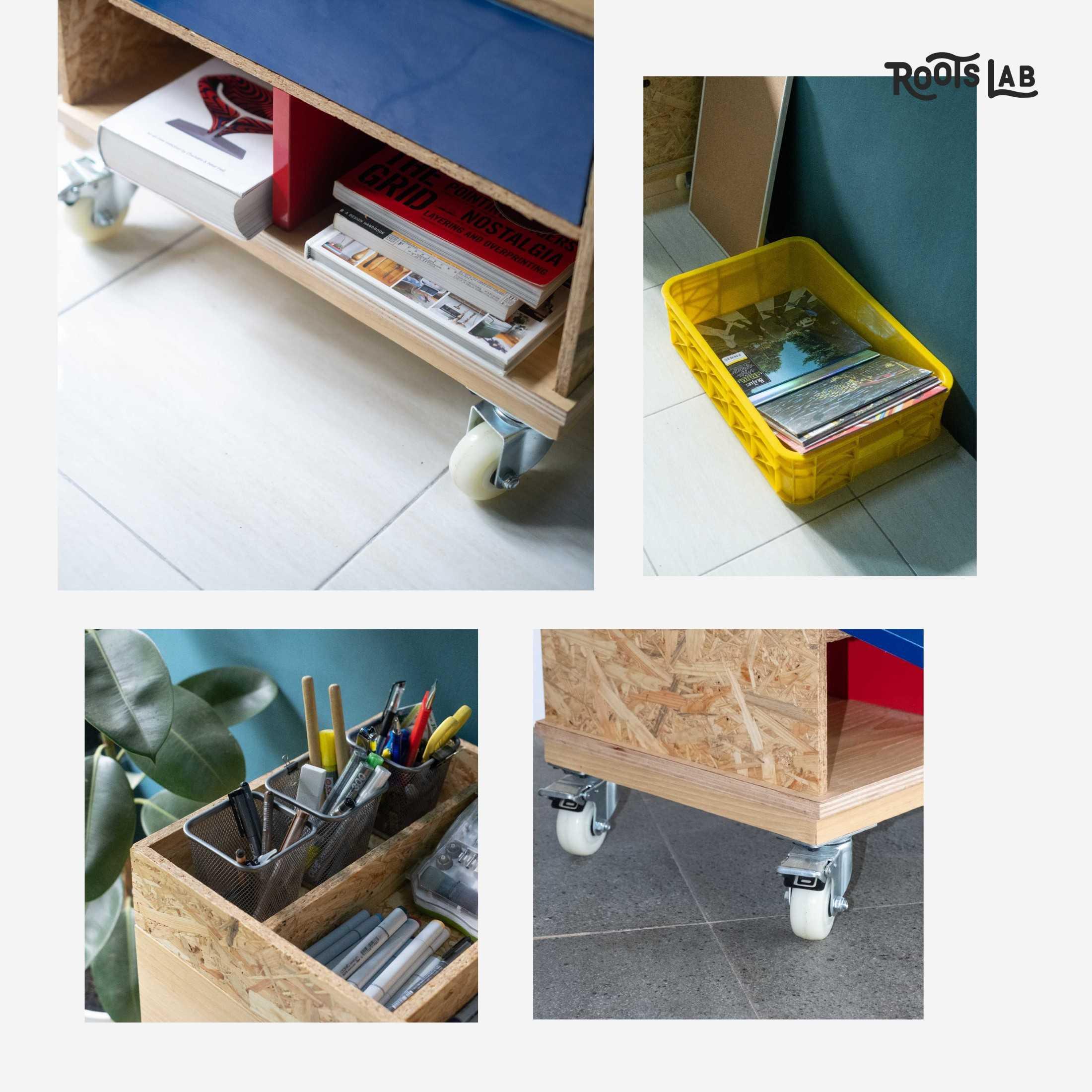Rootslab Furniture & Craft Project Bekasi, Kota Bks, Jawa Barat, Indonesia Bekasi, Kota Bks, Jawa Barat, Indonesia Rolling Stacks Cabinet Industrial 113032