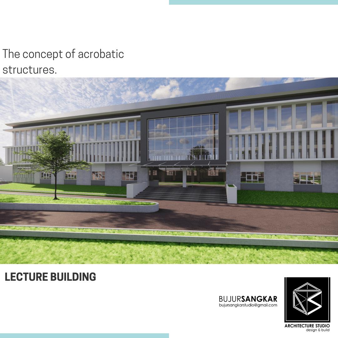 Bujursangkar Architect Lectutre Building Makassar, Kota Makassar, Sulawesi Selatan, Indonesia Makassar, Kota Makassar, Sulawesi Selatan, Indonesia Lecture Building Contemporary 114996