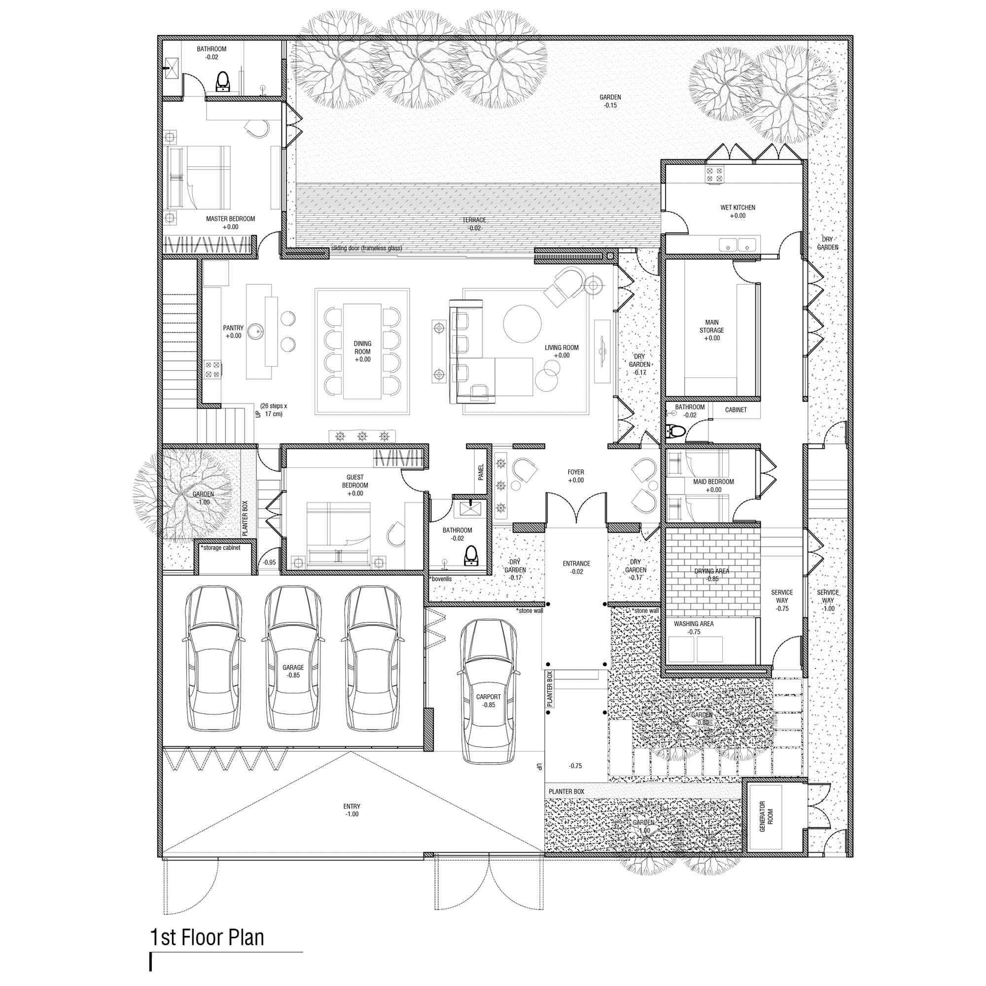 Y0 Design Architect S House Kec. Srono, Kabupaten Banyuwangi, Jawa Timur, Indonesia Kec. Srono, Kabupaten Banyuwangi, Jawa Timur, Indonesia Yohanes-Iswara-Limandjaya-S-House  121105