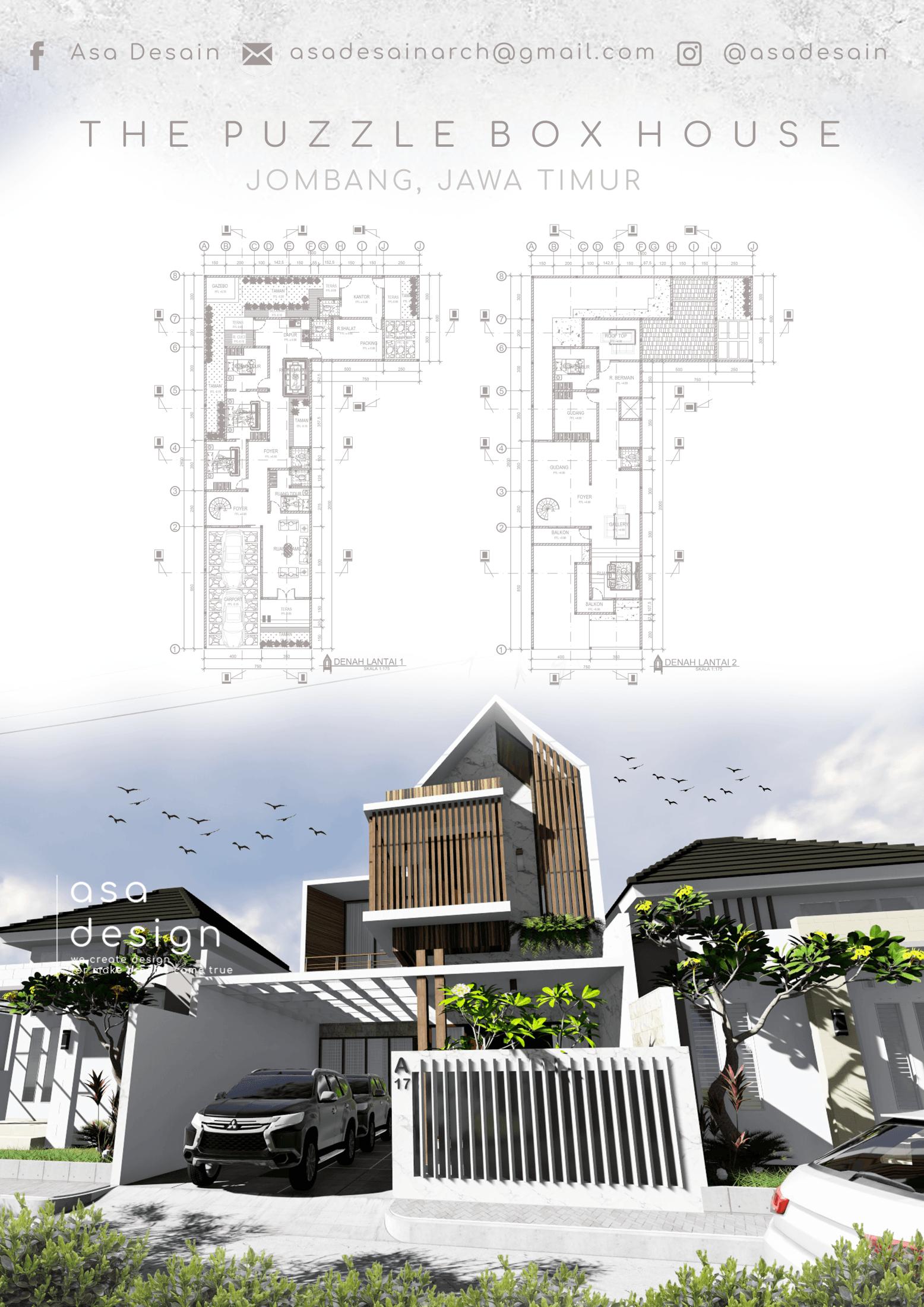 Jasa Design and Build ASA DESAIN ARSITEK di Jombang