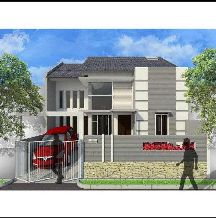 Caraka Konstruksi Renovasi Rumah Tinggal Bpk. Agung Malang, Kota Malang, Jawa Timur, Indonesia Malang, Kota Malang, Jawa Timur, Indonesia 3D Modeling  128201