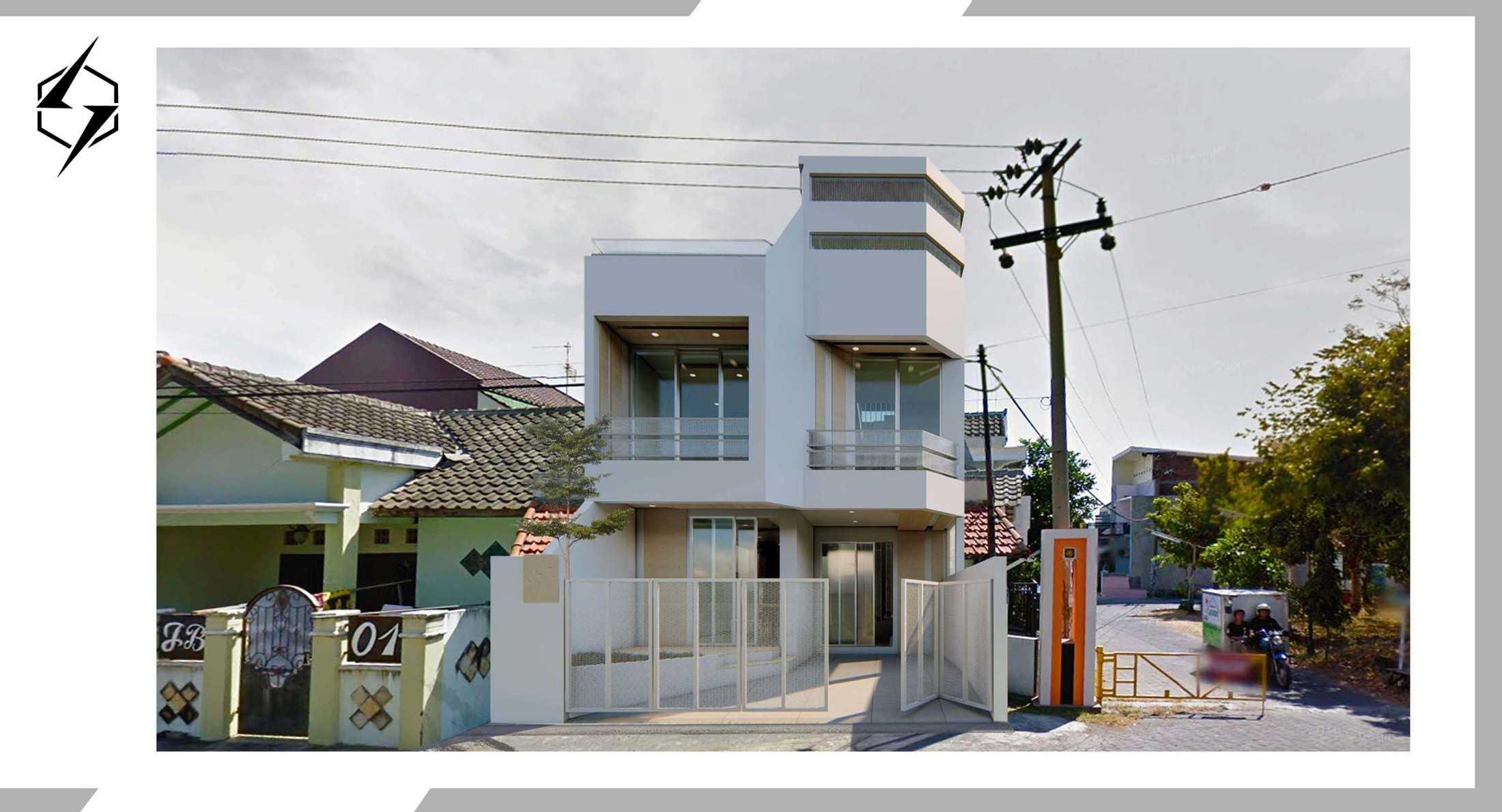 Sasmayarupa Studio White House Kabupaten Sidoarjo, Jawa Timur, Indonesia Kabupaten Sidoarjo, Jawa Timur, Indonesia Sync-Studio-Contemporary-White-House  130887