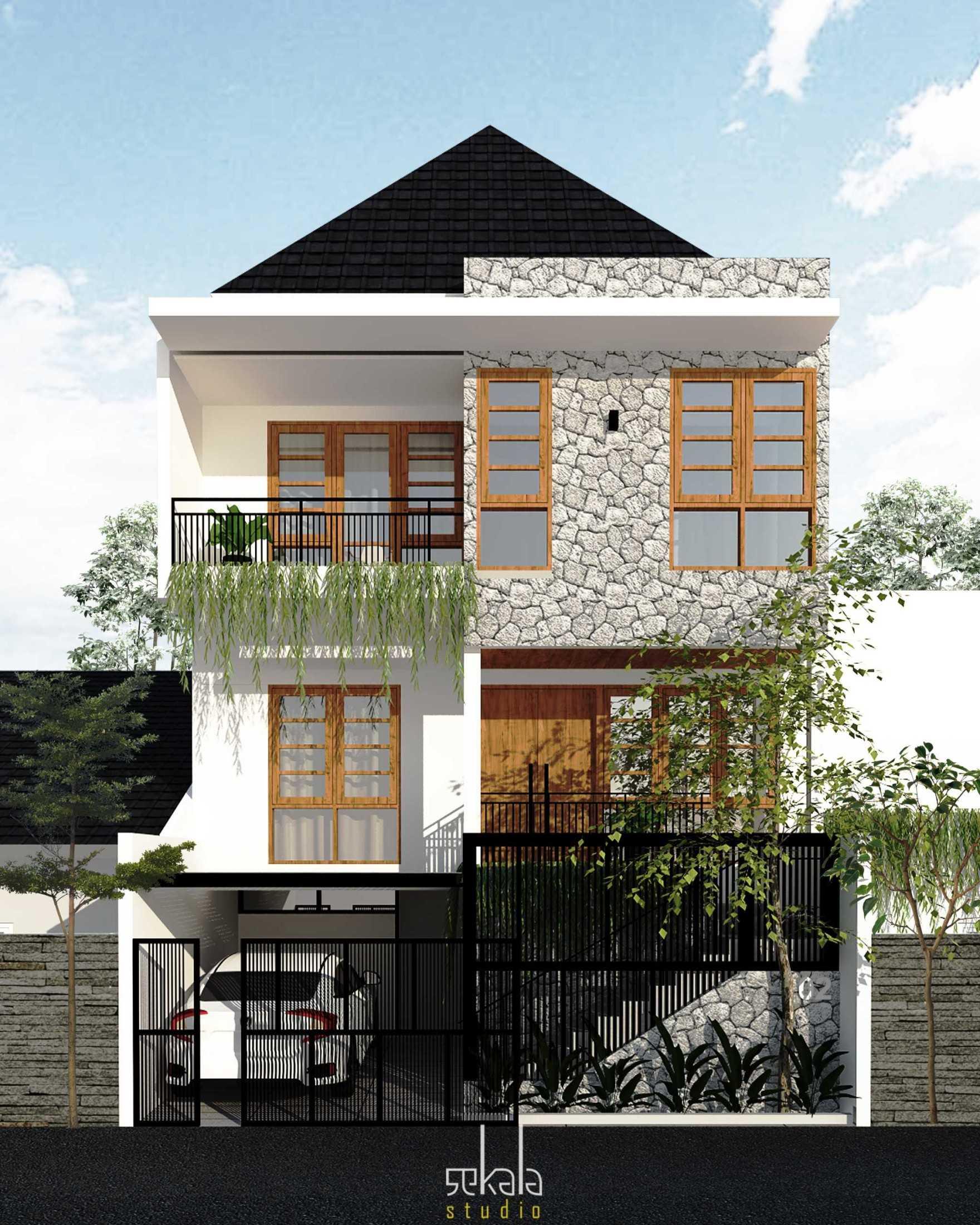 Foto inspirasi ide desain kamar tidur anak minimalis Sekala-house-in-krembangan-surabaya oleh SEKALA di Arsitag