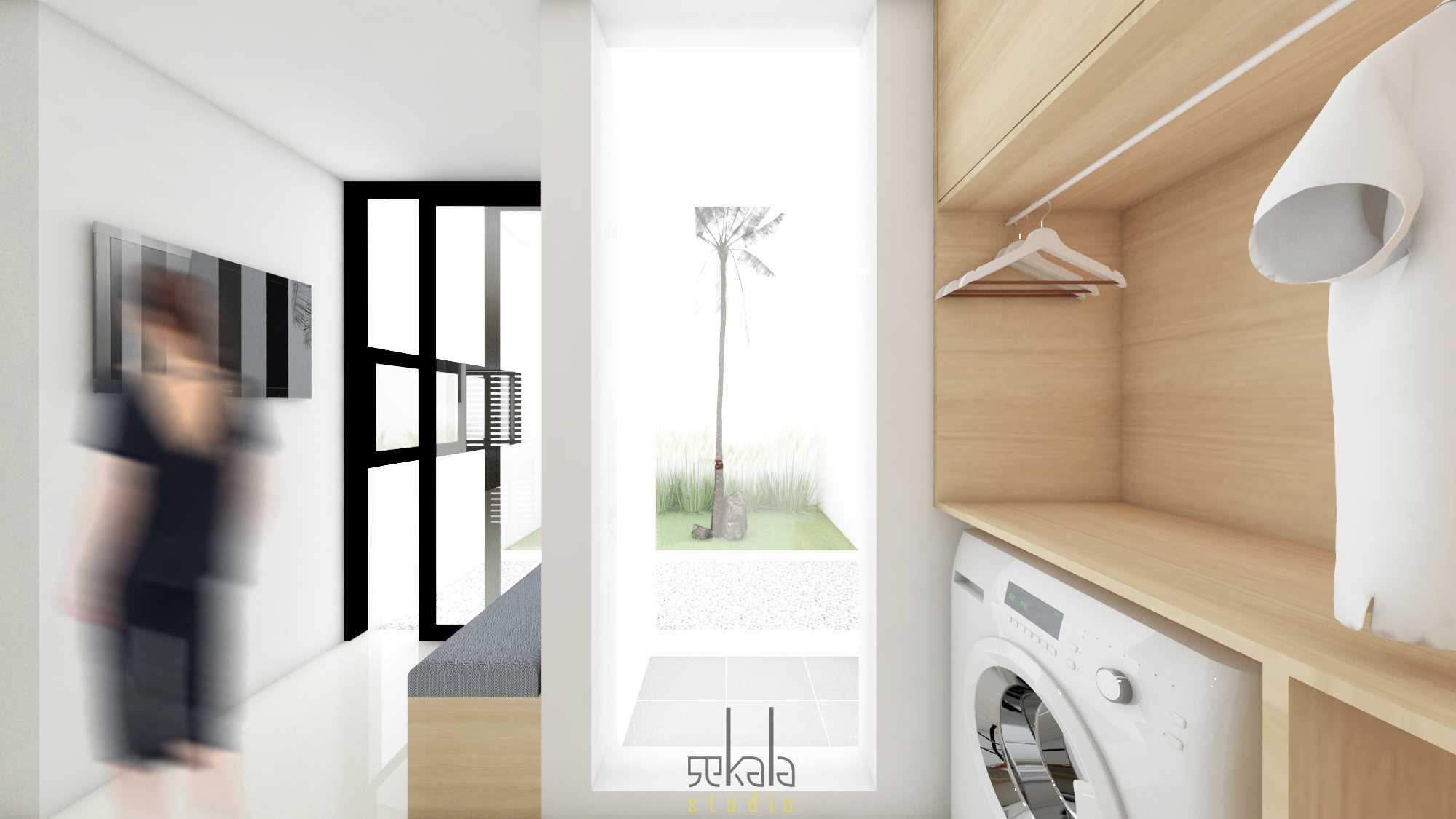 Foto inspirasi ide desain laundry Sekala-rumah-keputih oleh SEKALA di Arsitag