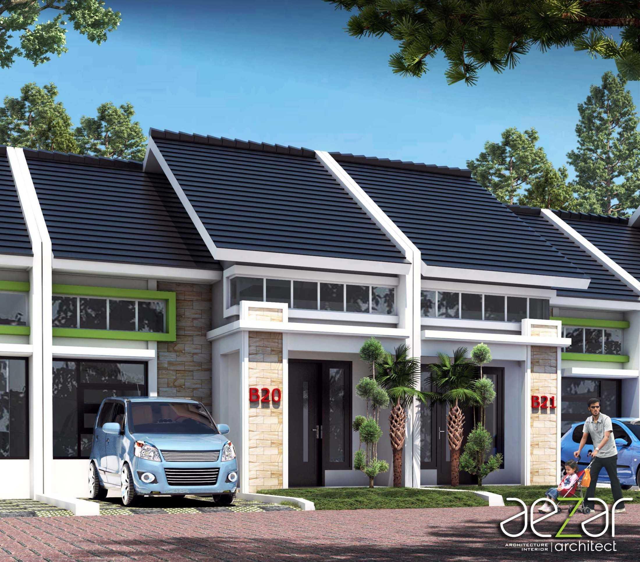 Aezar Architect Perumahan De Dwipa Kedungmundu Semarang, Jawa Tengah, Indonesia Semarang, Jawa Tengah, Indonesia Exterior View Minimalist 54503