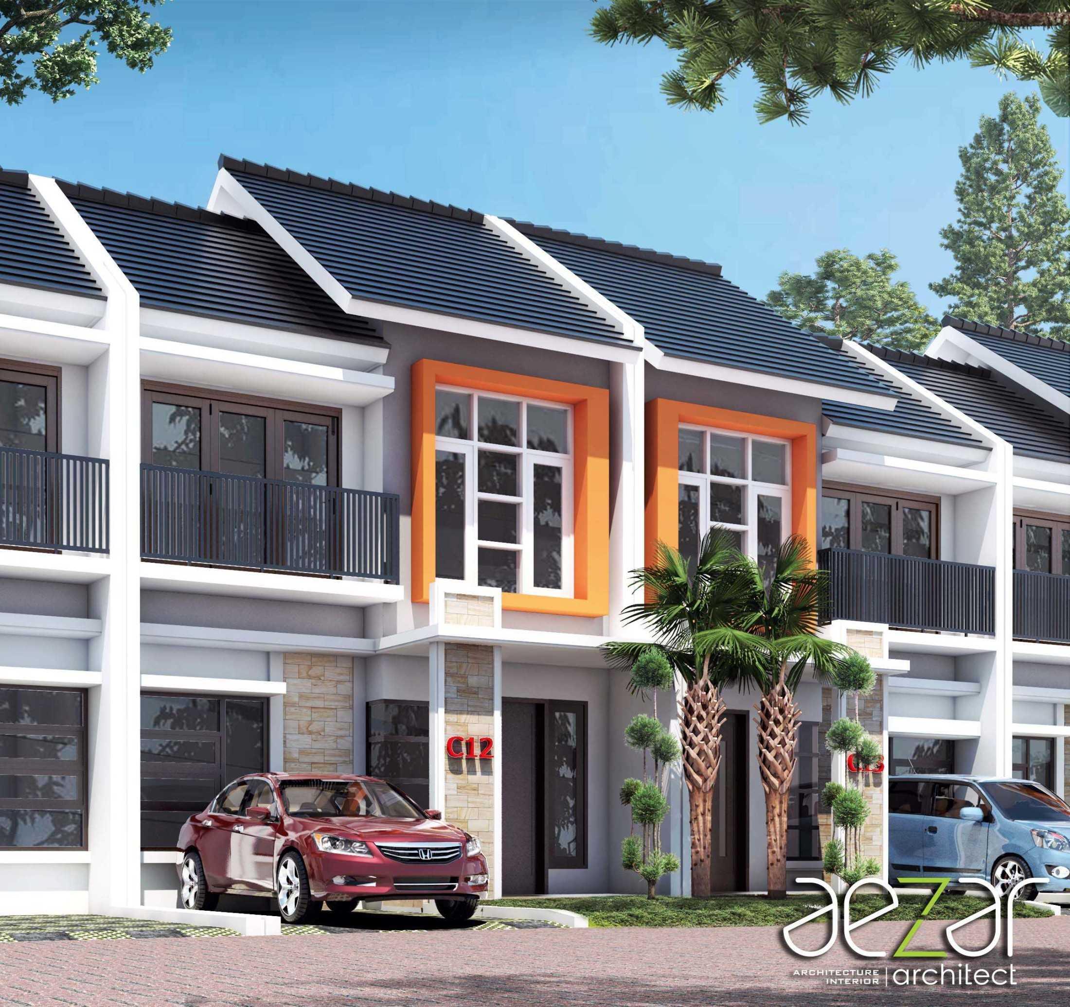 Aezar Architect Perumahan De Dwipa Kedungmundu Semarang, Jawa Tengah, Indonesia Semarang, Jawa Tengah, Indonesia Exterior View Minimalist 54505