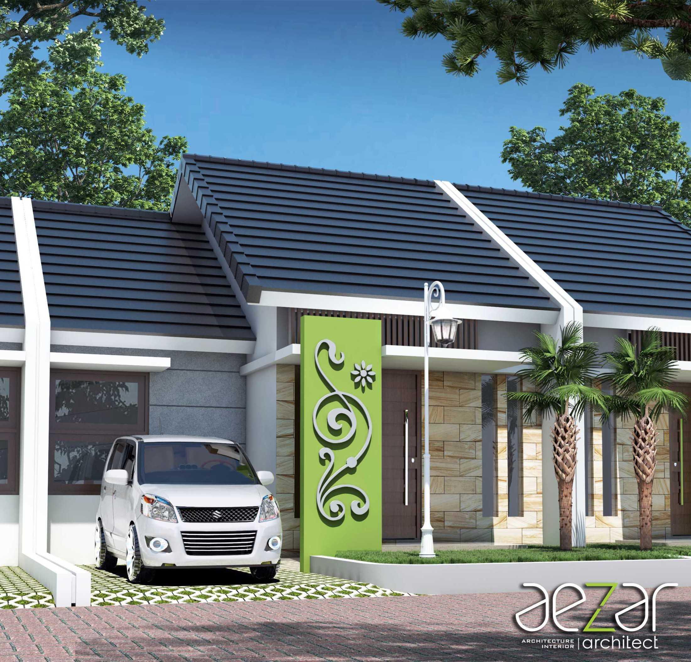 Aezar Architect Perumahan Villa Exist Sempurna Kabupaten Batang, Jawa Tengah, Indonesia Kabupaten Batang, Jawa Tengah, Indonesia Exterior View Minimalis 54482
