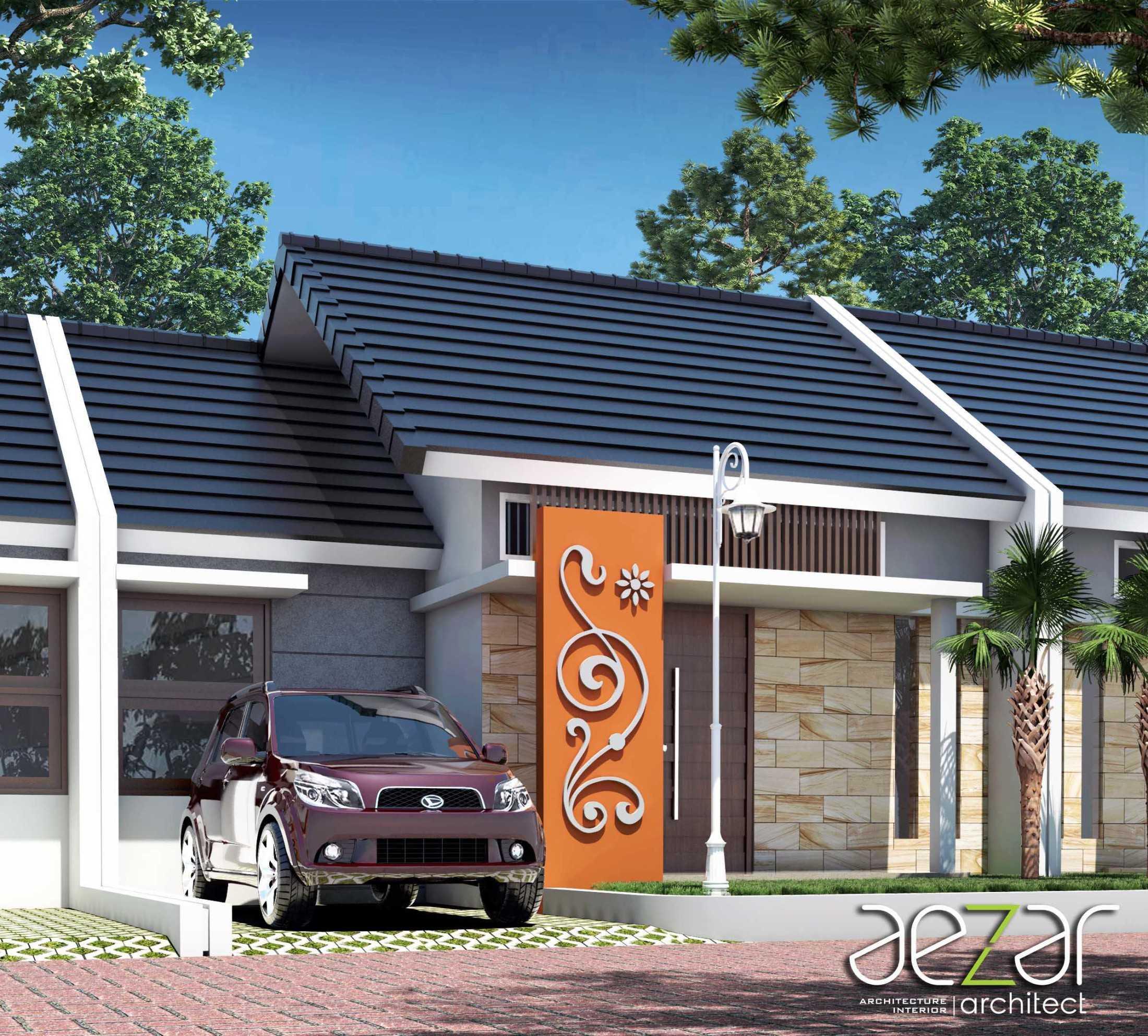 Aezar Architect Perumahan Villa Exist Sempurna Kabupaten Batang, Jawa Tengah, Indonesia Kabupaten Batang, Jawa Tengah, Indonesia Exterior View Minimalis 54484