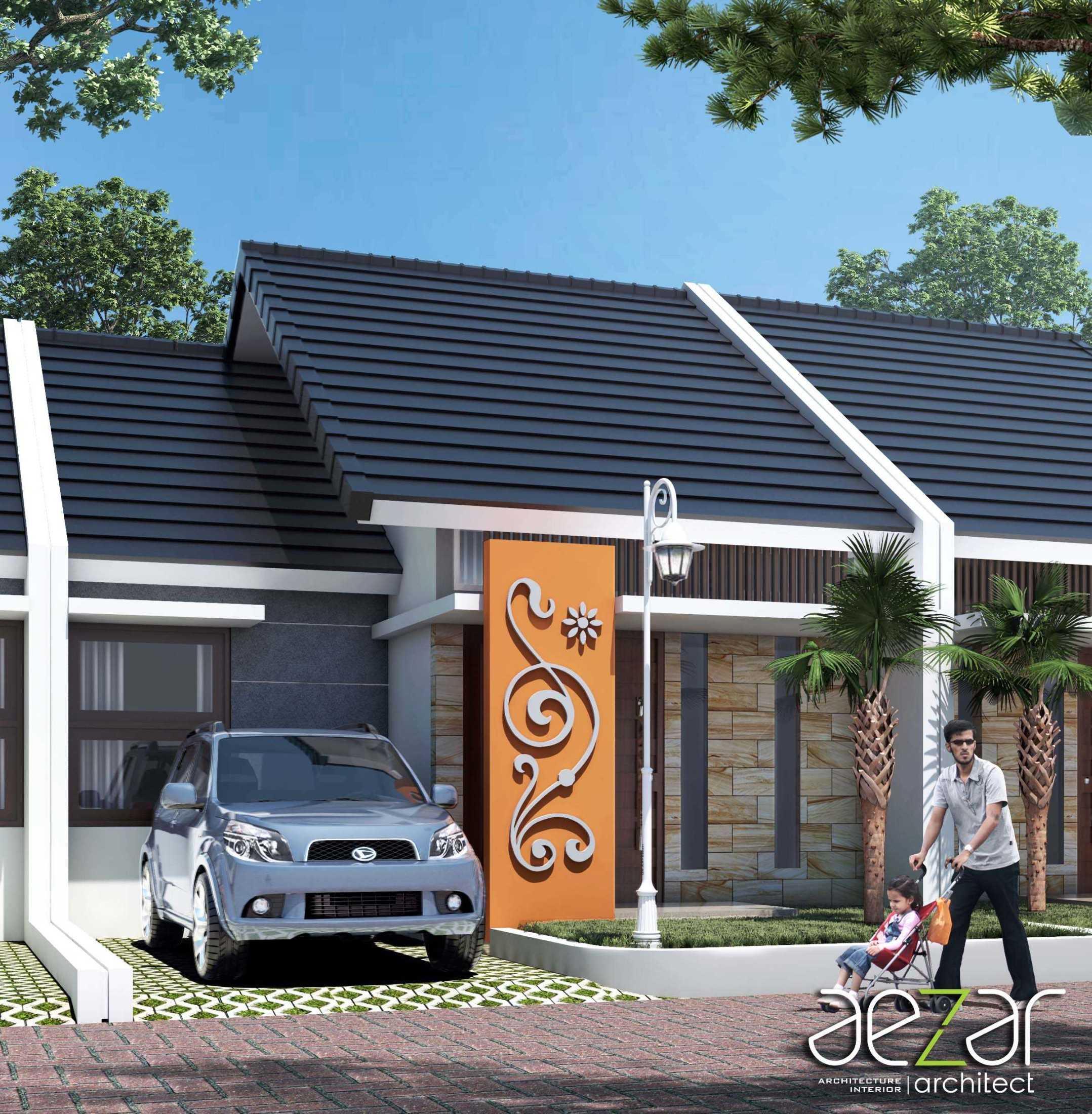 Aezar Architect Perumahan Villa Exist Sempurna Kabupaten Batang, Jawa Tengah, Indonesia Kabupaten Batang, Jawa Tengah, Indonesia Exterior View Minimalis 54485