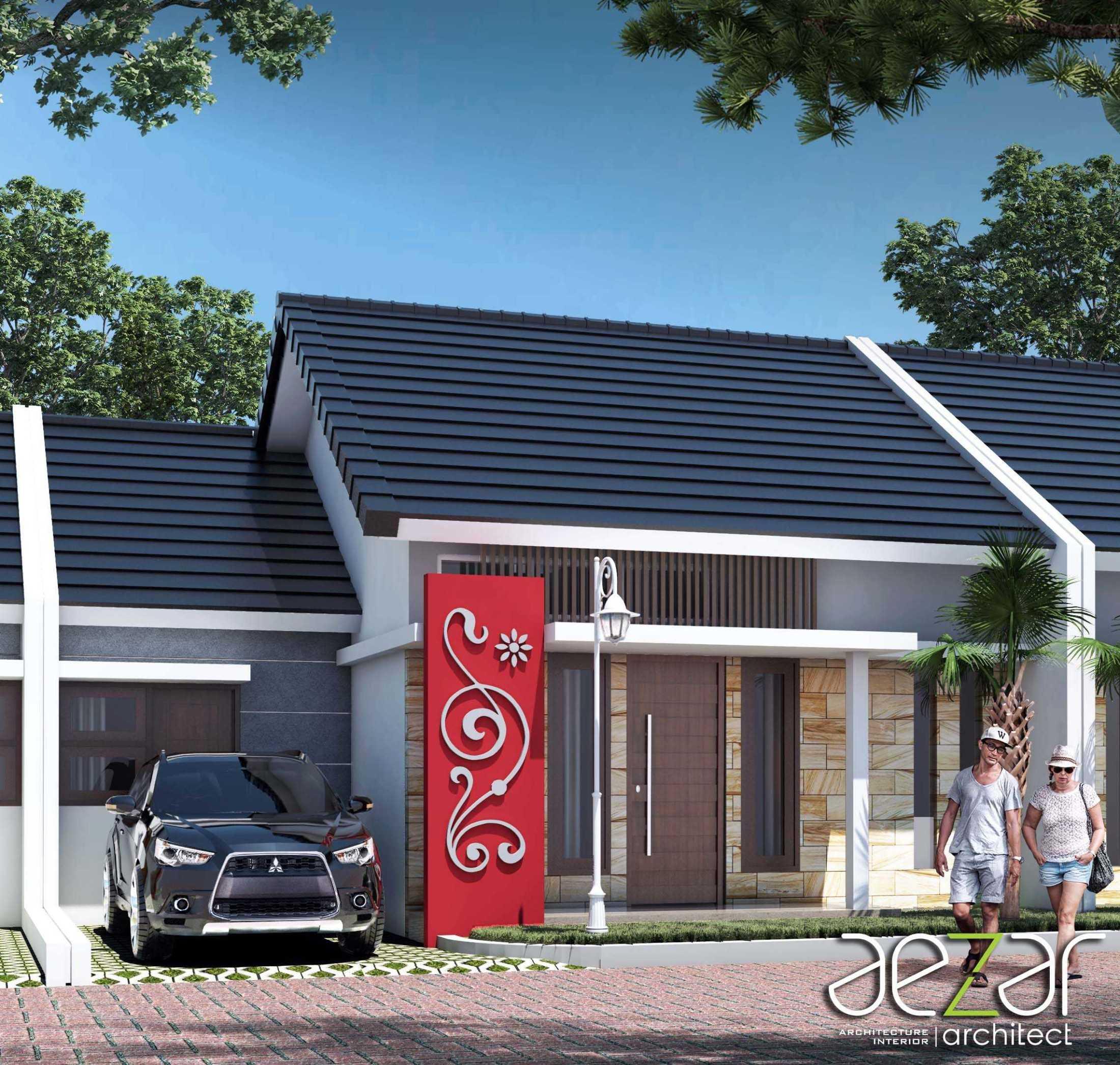 Aezar Architect Perumahan Villa Exist Sempurna Kabupaten Batang, Jawa Tengah, Indonesia Kabupaten Batang, Jawa Tengah, Indonesia Exterior View Minimalis 54486
