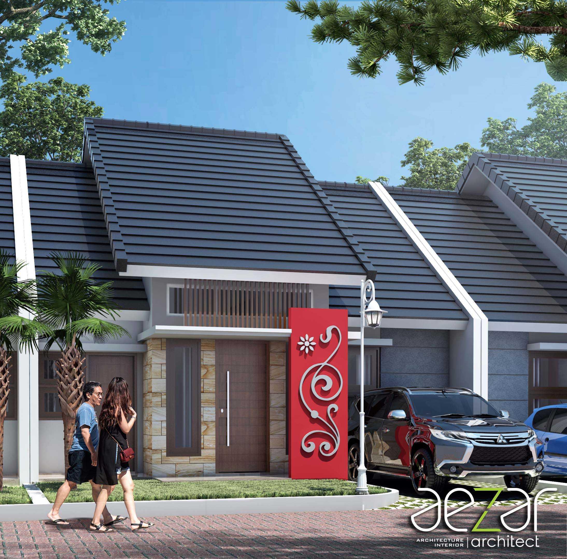 Aezar Architect Perumahan Villa Exist Sempurna Kabupaten Batang, Jawa Tengah, Indonesia Kabupaten Batang, Jawa Tengah, Indonesia Exterior View Minimalis 54487