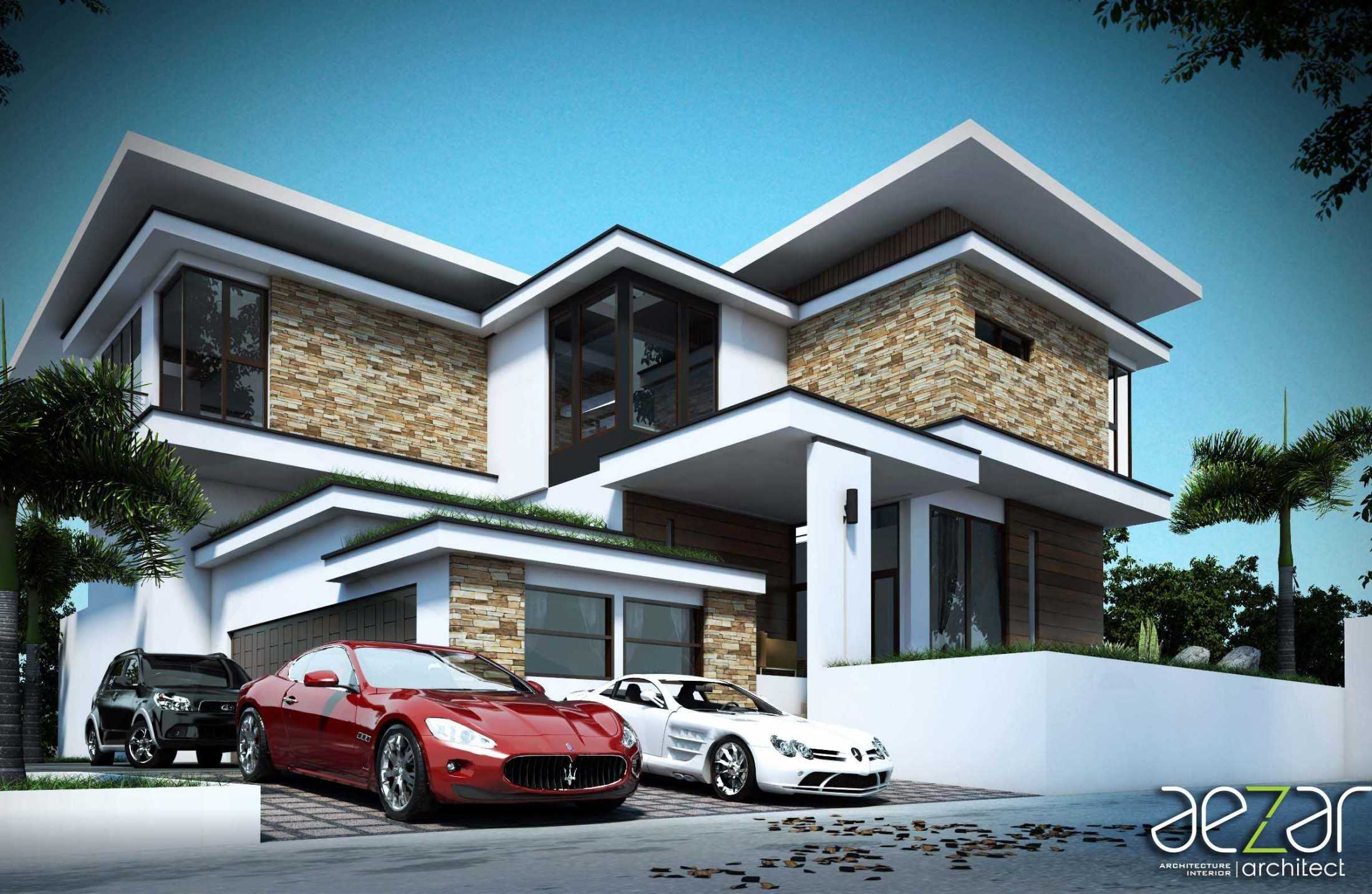 Aezar Architect Zk House Medan, Kota Medan, Sumatera Utara, Indonesia Medan, Kota Medan, Sumatera Utara, Indonesia Exterior View  54459
