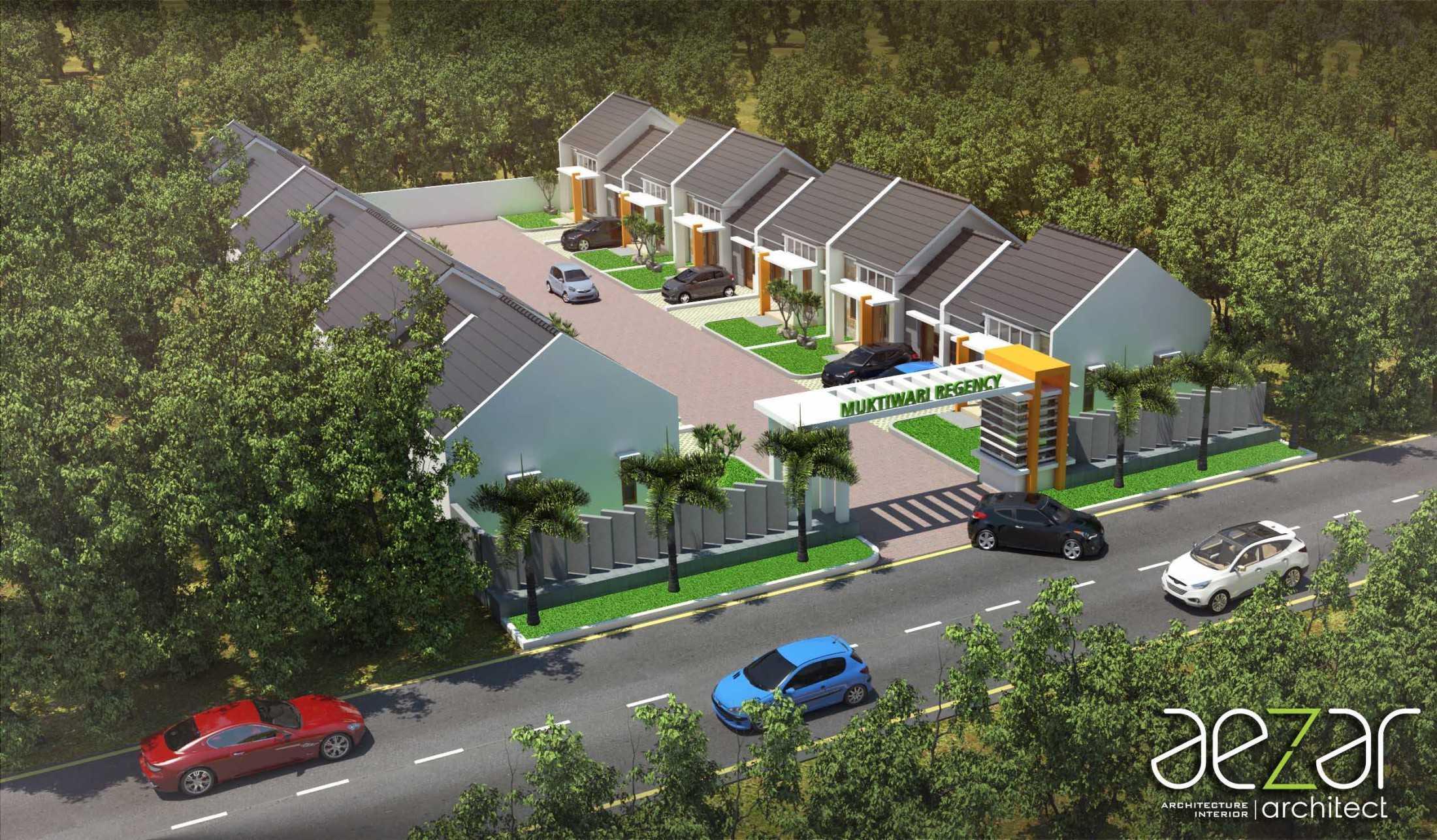 Aezar Architect Perumahan Grand Muktiwari Regency Bekasi, Tambelang, Bekasi, Jawa Barat, Indonesia Bekasi, Tambelang, Bekasi, Jawa Barat, Indonesia Bird Eye View Minimalis 54452
