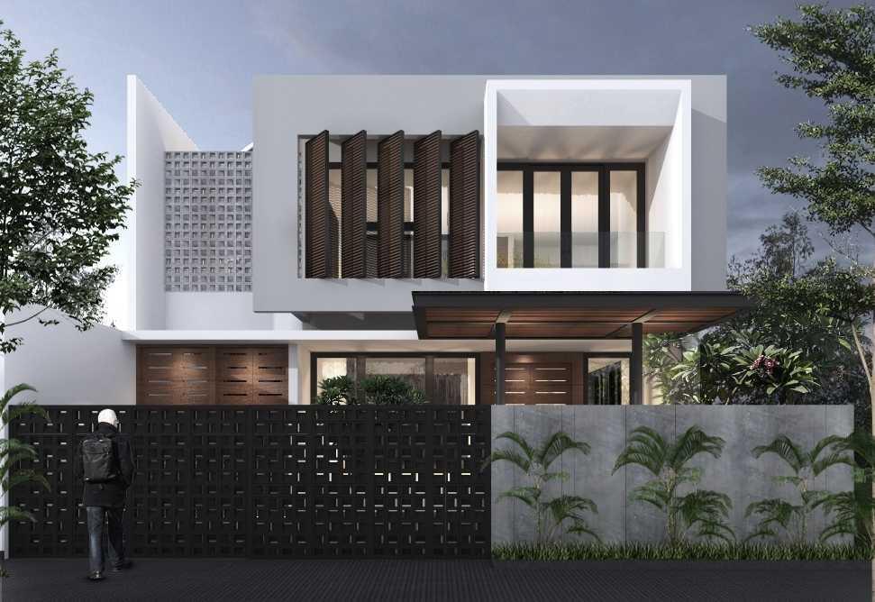 Limasaka Studio Madja House Kota Tangerang Selatan, Banten, Indonesia Kota Tangerang Selatan, Banten, Indonesia Limasaka-Studio-Madja-House  62436