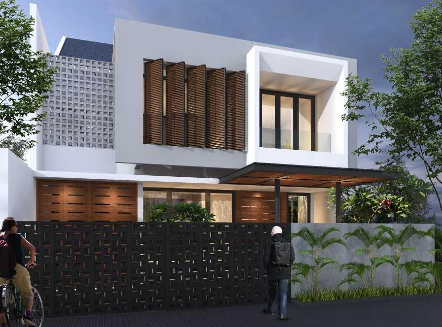 Limasaka Studio Madja House Kota Tangerang Selatan, Banten, Indonesia Kota Tangerang Selatan, Banten, Indonesia Limasaka-Studio-Madja-House  62437