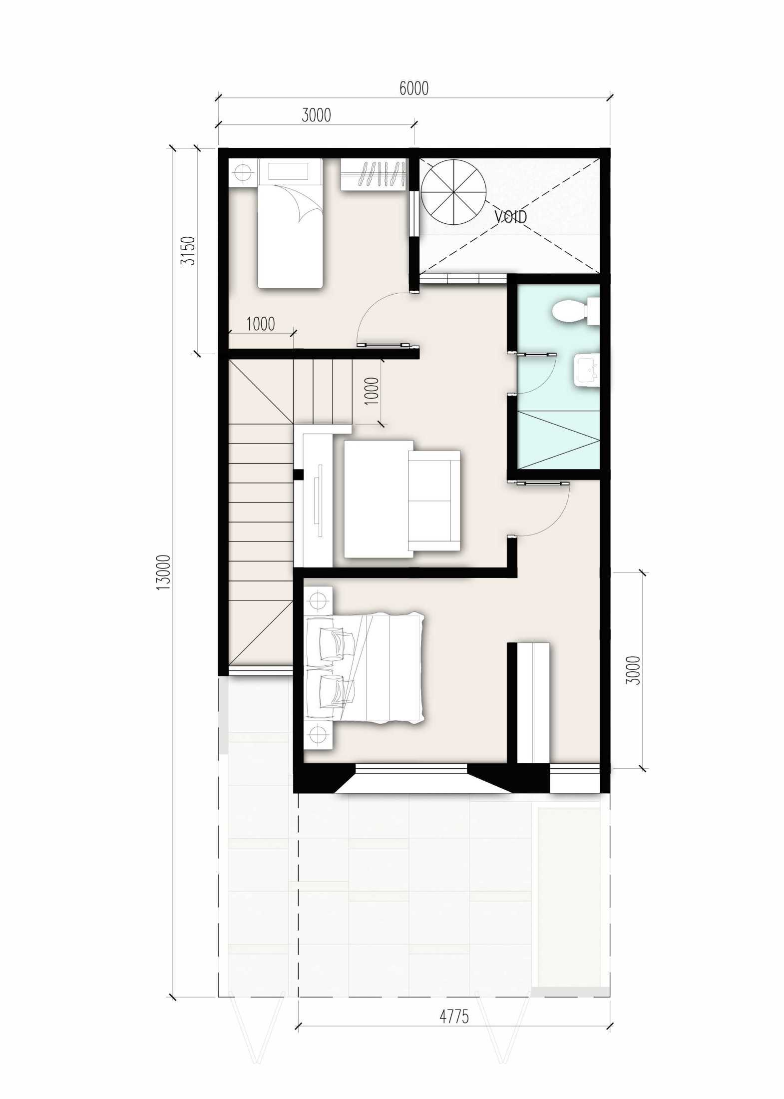 Zigzag Architecture Studio D House - Cibitung Cibitung, Bekasi, Jawa Barat, Indonesia Cibitung, Bekasi, Jawa Barat, Indonesia Zigzag-Architecture-Studio-D-House-Cibitung Kontemporer 56154