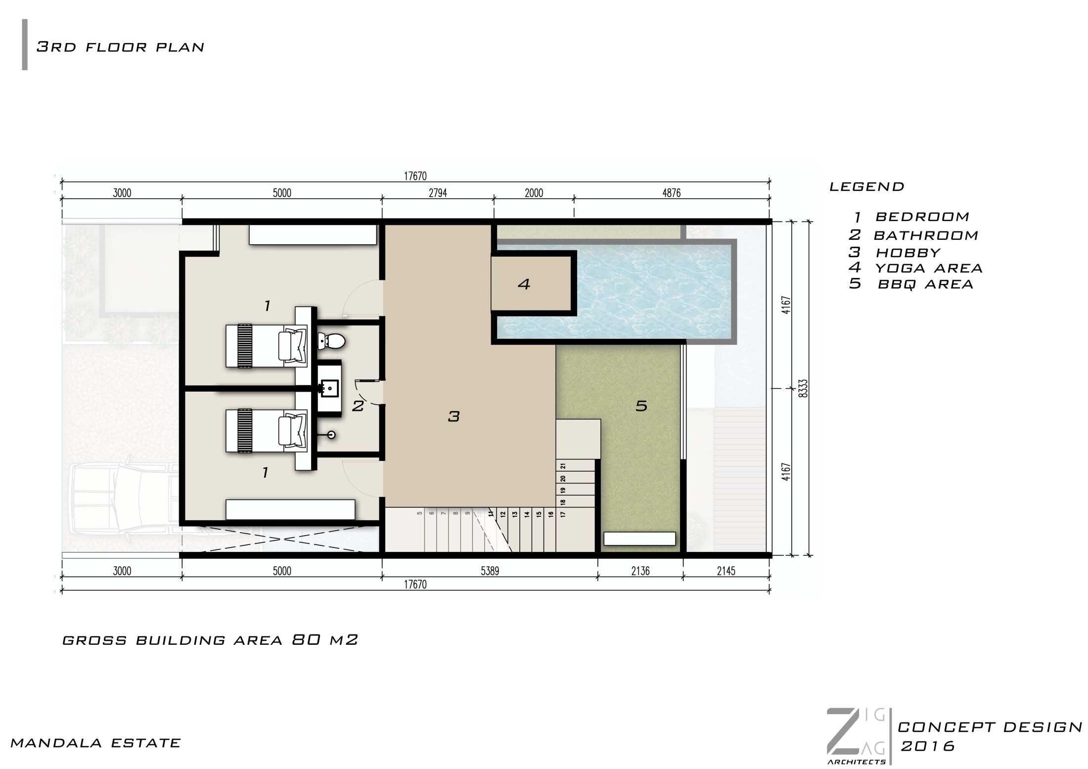 Zigzag Architecture Studio Mandala Estate Ubud, Kabupaten Gianyar, Bali, Indonesia Ubud, Kabupaten Gianyar, Bali, Indonesia Zigzag-Architecture-Studio-Mandala-Estate  56158