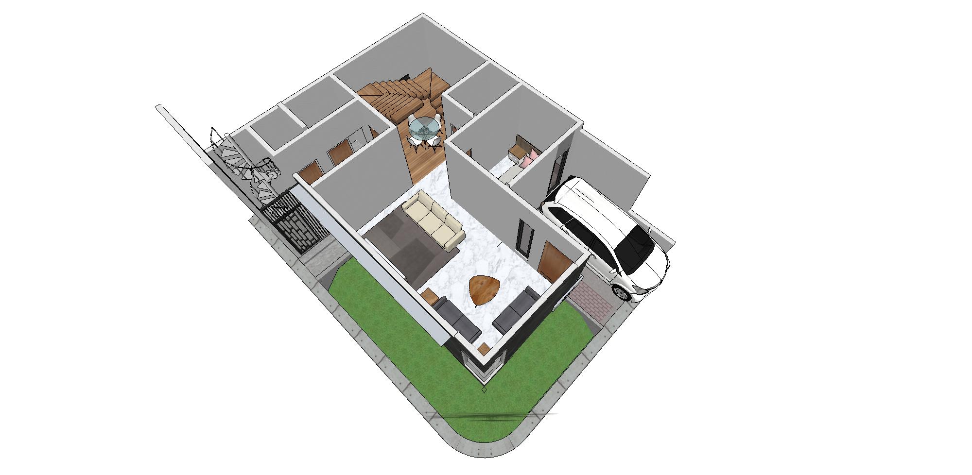 Zigzag Architecture Studio C House - Karawaci Karawaci, Kota Tangerang, Banten, Indonesia Karawaci, Kota Tangerang, Banten, Indonesia Zigzag-Architecture-Studio-C-House-Karawaci  59738