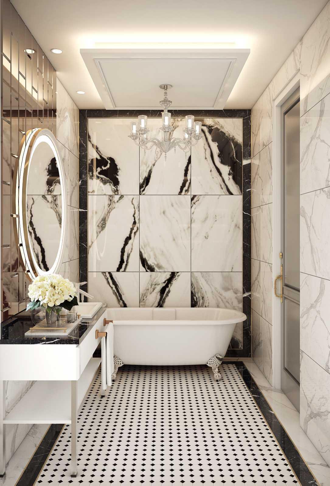 Mimic Concept Mrs. V - Bedroom Bandung, Kota Bandung, Jawa Barat, Indonesia Bandung, Kota Bandung, Jawa Barat, Indonesia Master Bathroom 3 Classic 88219