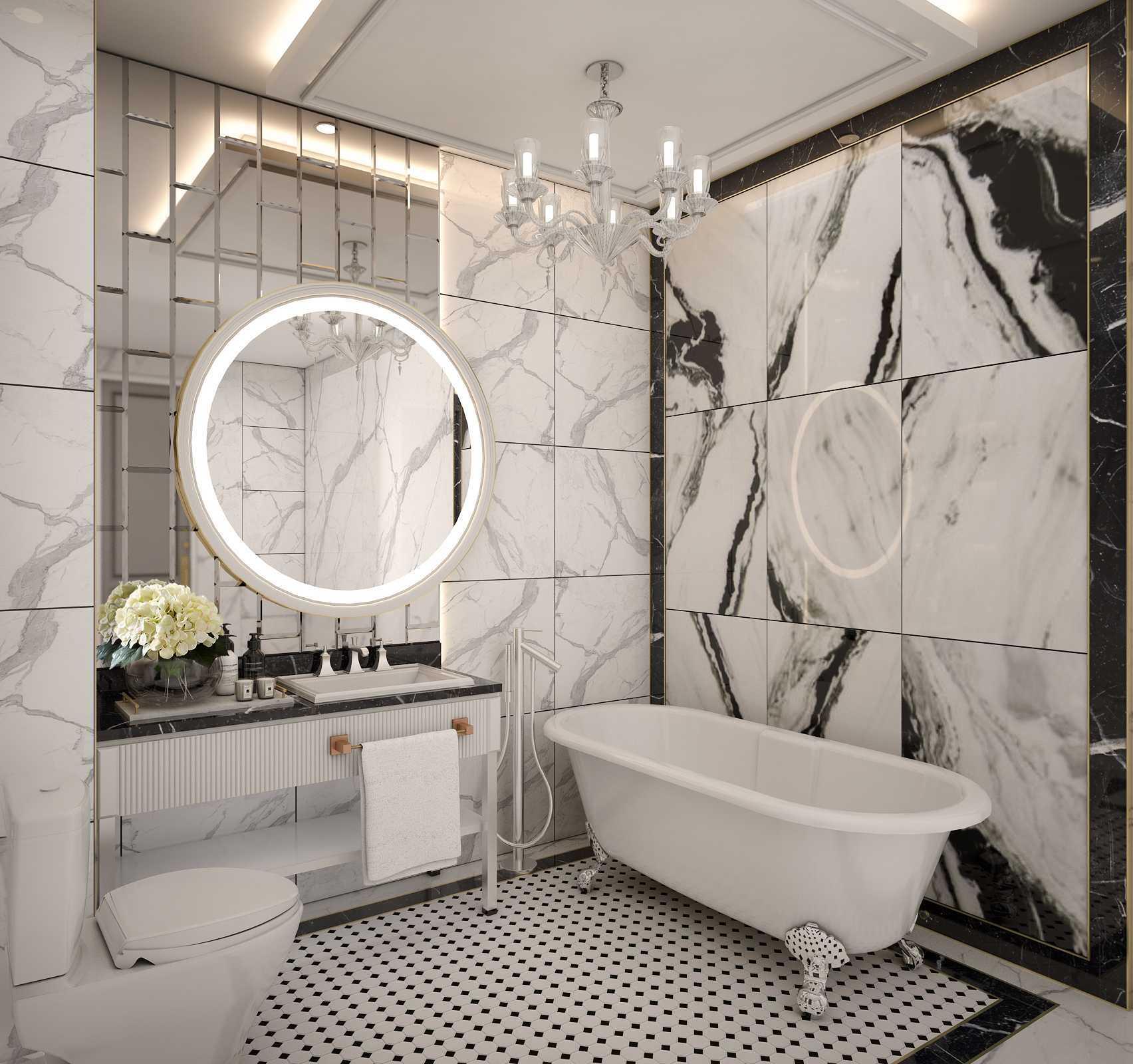 Mimic Concept Mrs. V - Bedroom Bandung, Kota Bandung, Jawa Barat, Indonesia Bandung, Kota Bandung, Jawa Barat, Indonesia Master Bathroom 1 Classic 88221