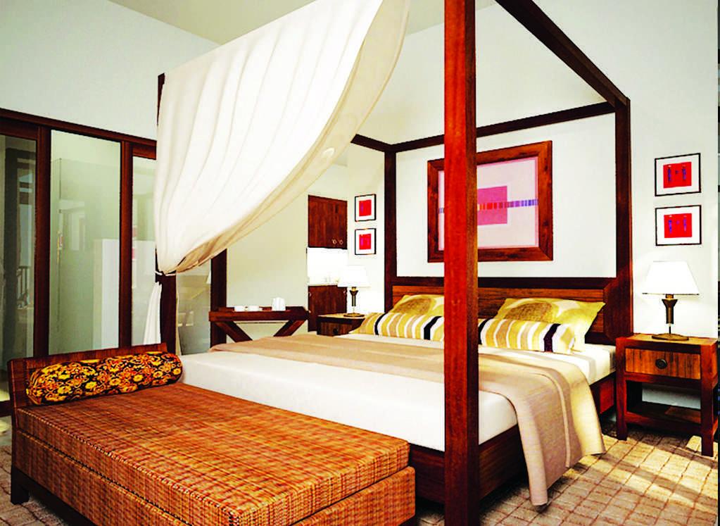 Foto inspirasi ide desain kamar tidur tradisional Mozaik-interior-hotel-bali oleh Mozaik Interior di Arsitag