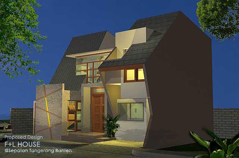 Alfaiz Design F+L House Kec. Sepatan, Tangerang, Banten, Indonesia Kec. Sepatan, Tangerang, Banten, Indonesia Alfaiz-Design-Fl-House  100536