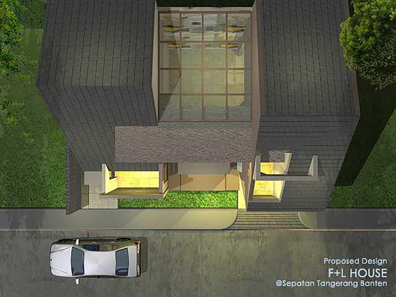 Alfaiz Design F+L House Kec. Sepatan, Tangerang, Banten, Indonesia Kec. Sepatan, Tangerang, Banten, Indonesia Alfaiz-Design-Fl-House  100538