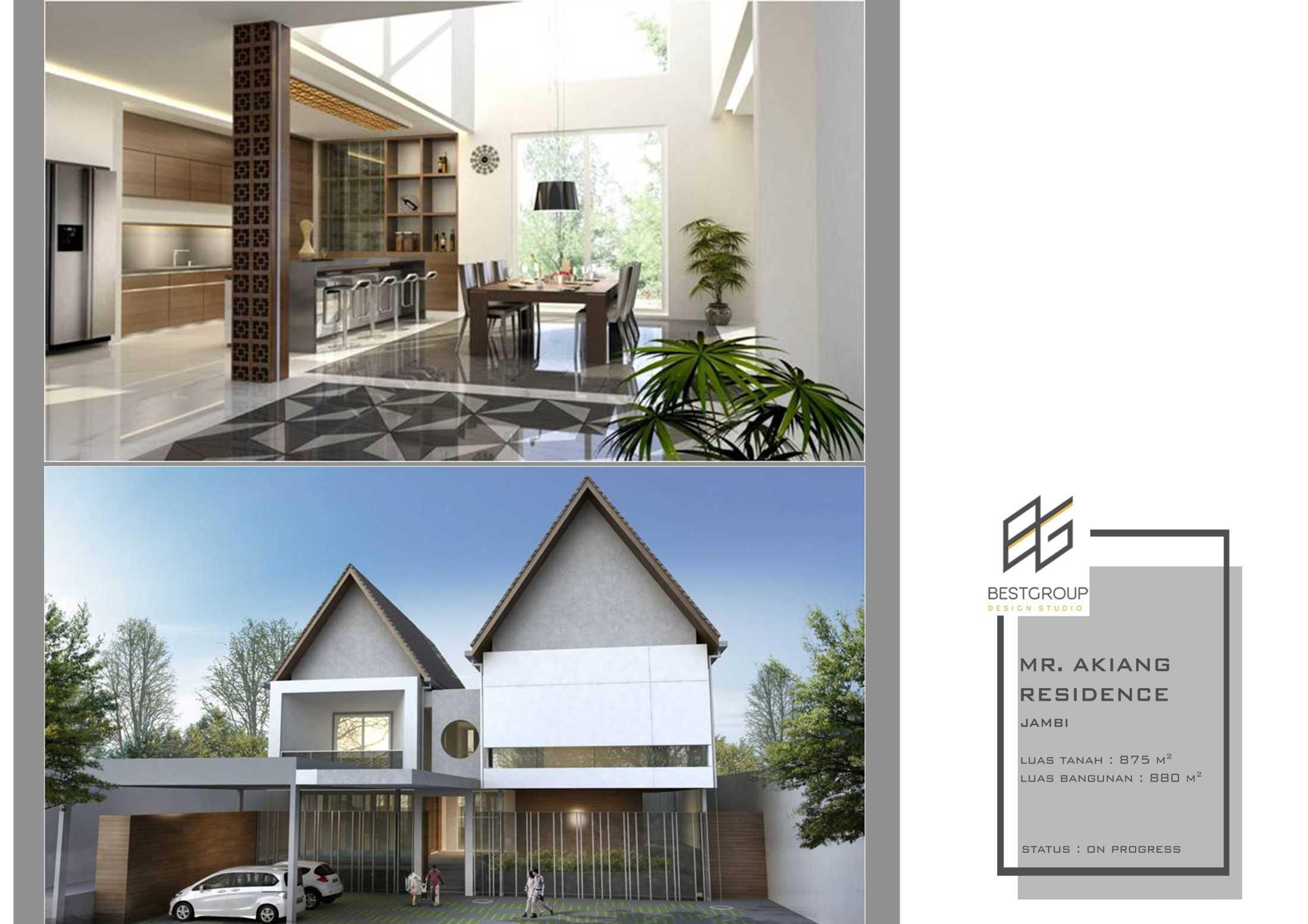 Jasa Arsitek BEST GROUP DESIGN STUDIO di Jambi