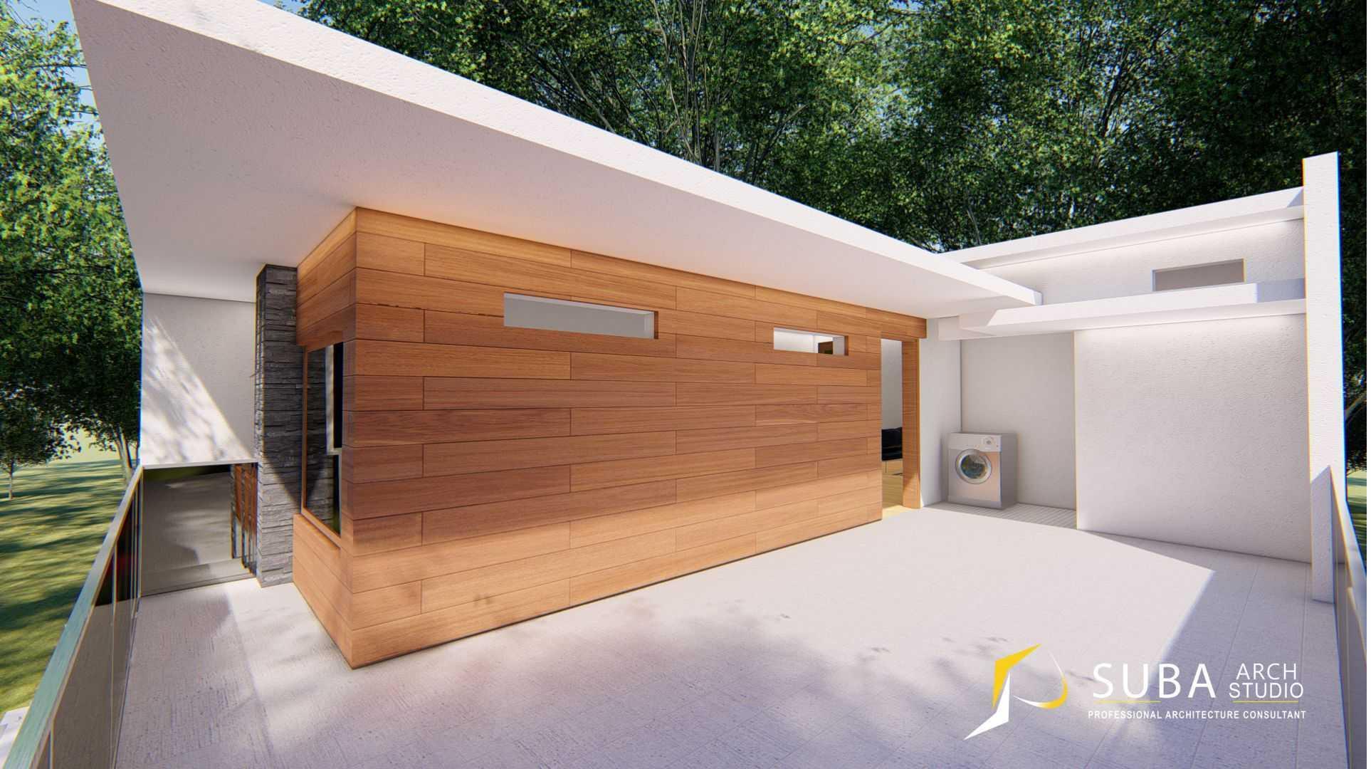 Foto inspirasi ide desain laundry Suba-arch-rumah-modern-kontemporer-cibeureum-sukabumi oleh SUBA-Arch di Arsitag