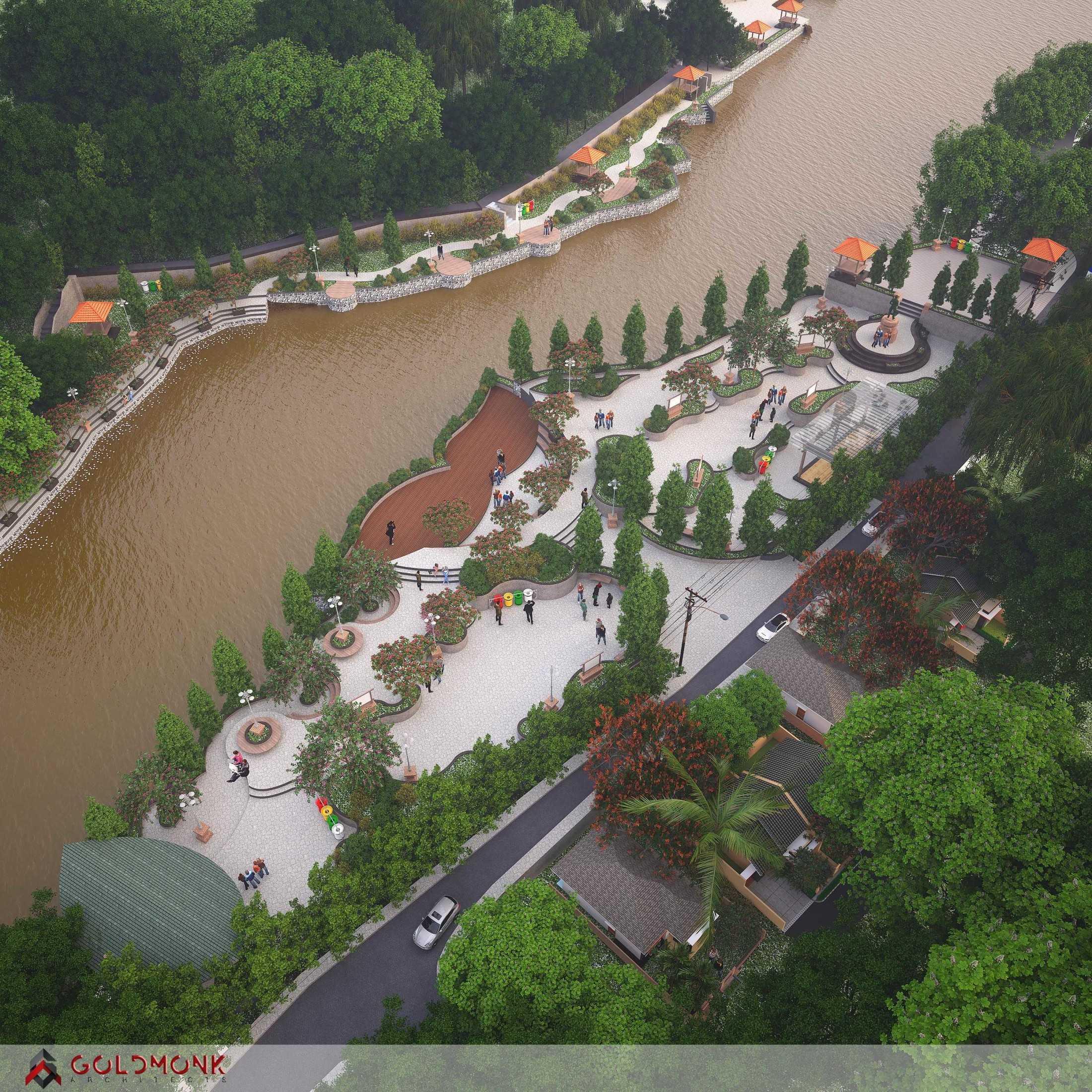 "Goldmonk Architects Penataan Alur Sungai ""tukad Oongan"" Kota Denpasar, Bali, Indonesia Kota Denpasar, Bali, Indonesia Goldmonk-Architects-Penataan-Alur-Sungai-Tukad-Oongan Tropical 60332"