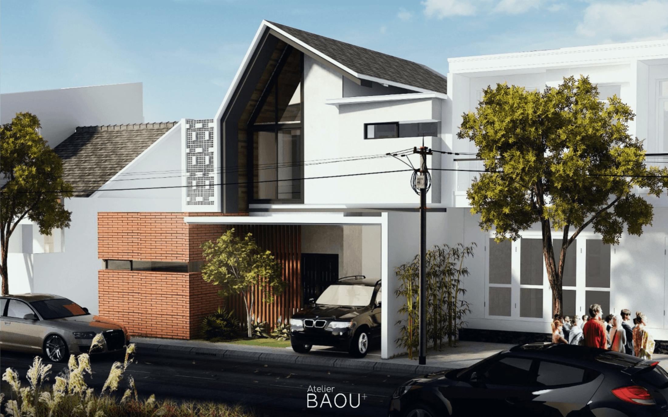 Atelier Baou Sr House Kec. Serpong, Kota Tangerang Selatan, Banten, Indonesia Kec. Serpong, Kota Tangerang Selatan, Banten, Indonesia Atelier-Baou-Sr-House  86440