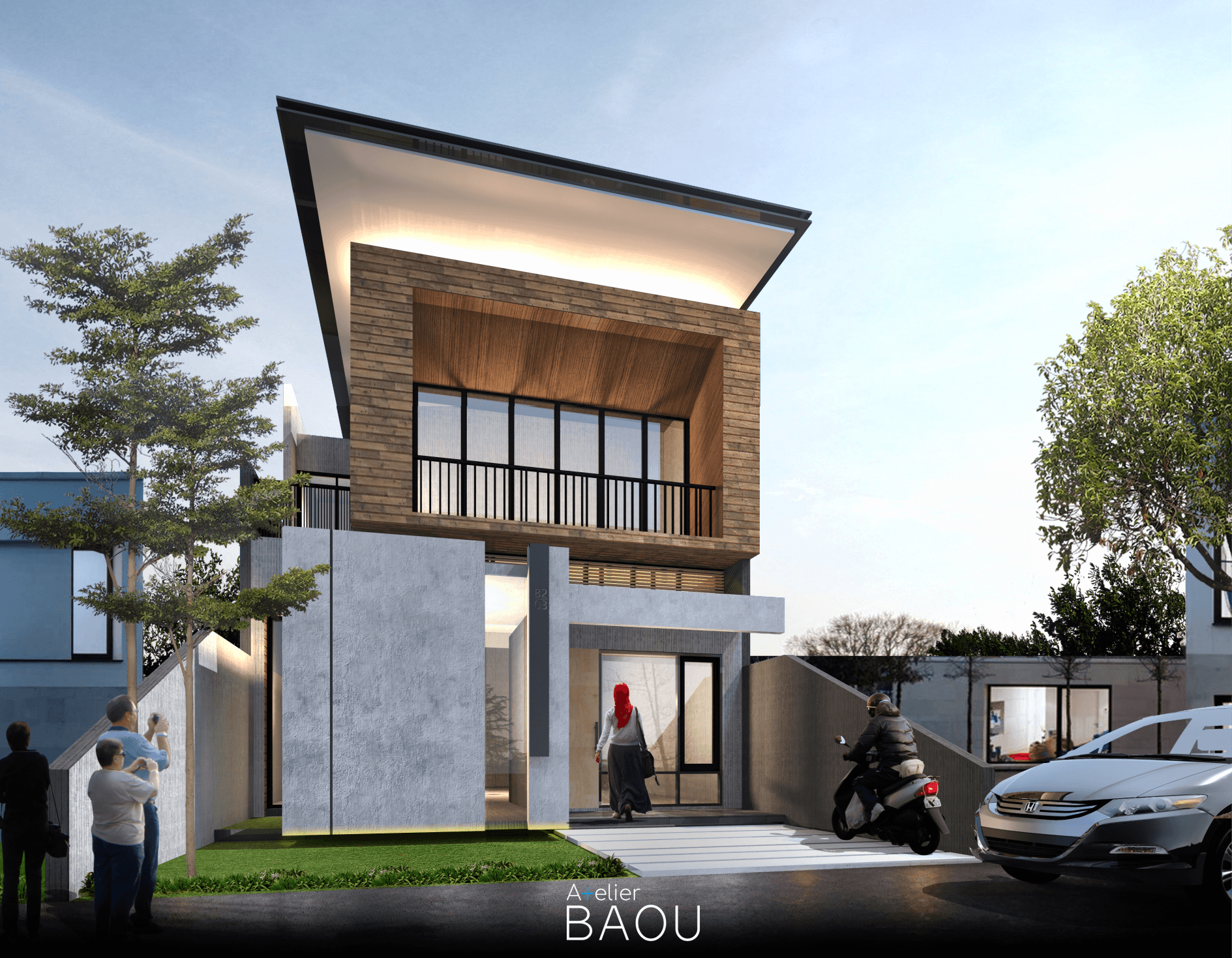 Atelier Baou Yc House Cikarang, Bekasi, Jawa Barat, Indonesia Cikarang, Bekasi, Jawa Barat, Indonesia Atelier-Baou-Yc-House  86445