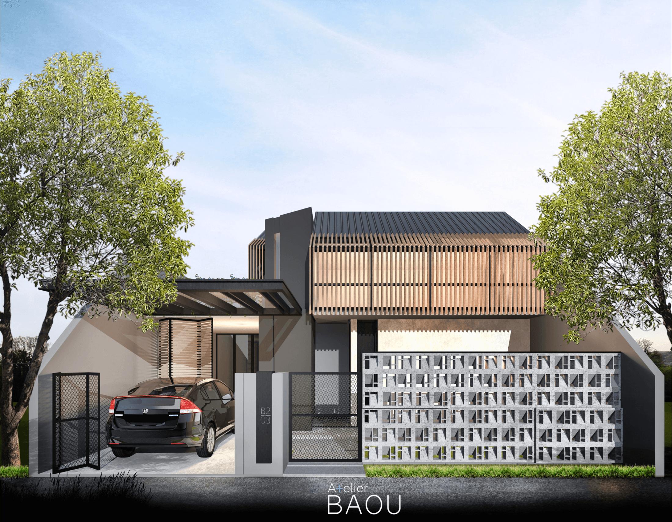 Atelier Baou Ss House Serang, Kec. Serang, Kota Serang, Banten, Indonesia Serang, Kec. Serang, Kota Serang, Banten, Indonesia Atelier-Baou-Ss-House  86462
