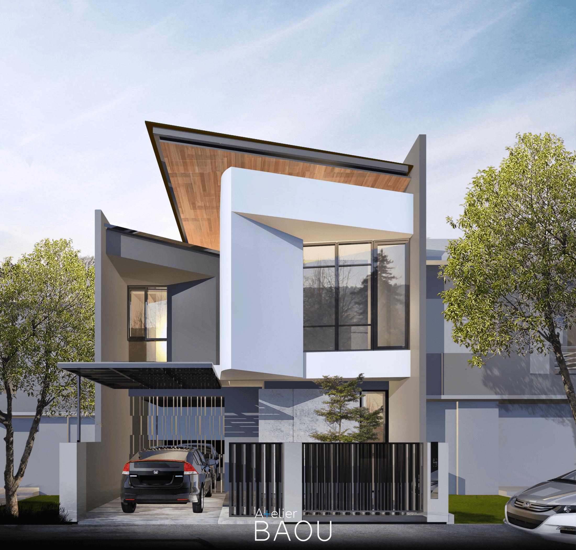 Atelier Baou Hd House Kota Depok, Jawa Barat, Indonesia Kota Depok, Jawa Barat, Indonesia Atelier-Baou-Hd-House  86477