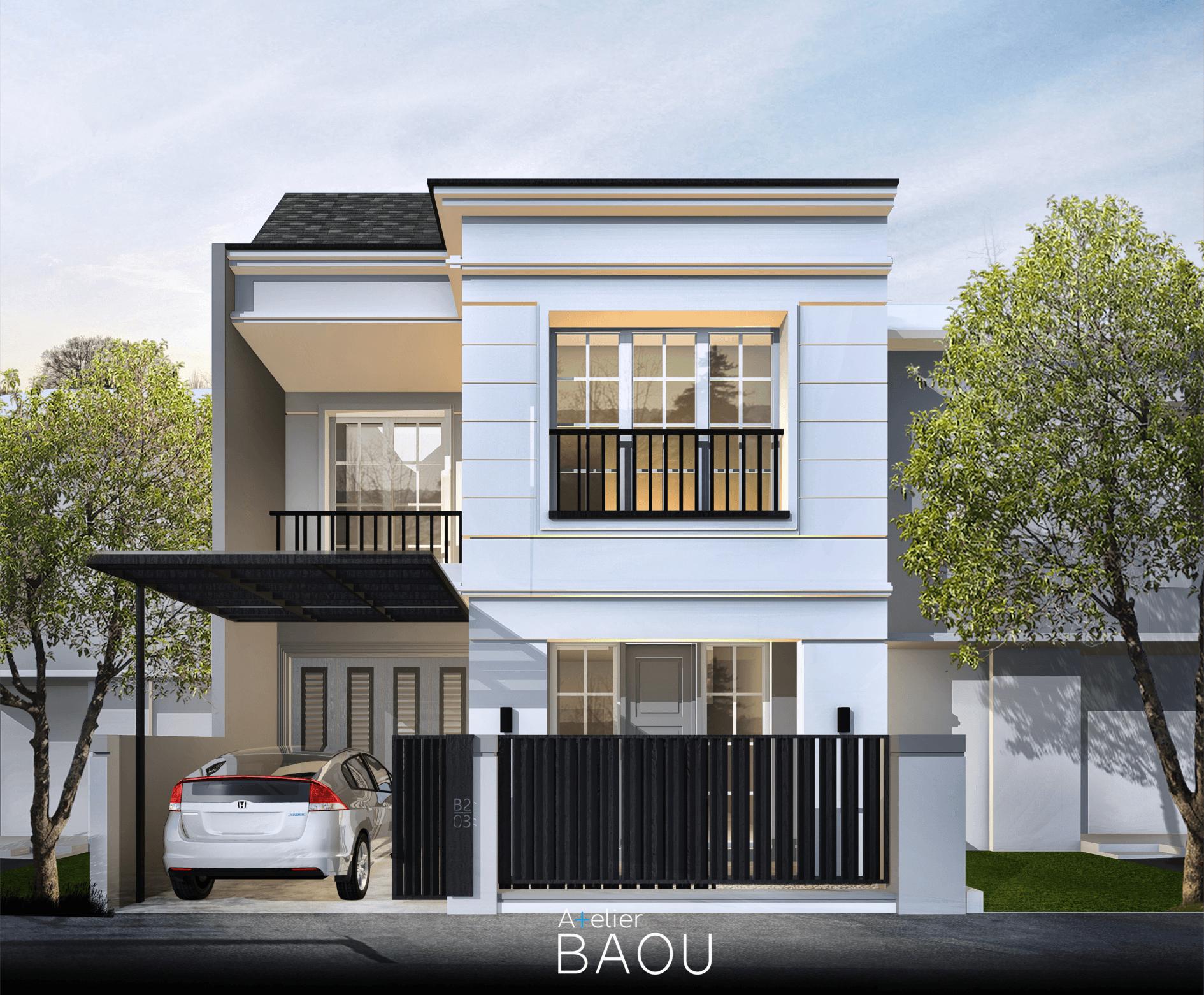 Atelier Baou H House Depok, Kota Depok, Jawa Barat, Indonesia Depok, Kota Depok, Jawa Barat, Indonesia Atelier-Baou-H-House  86481