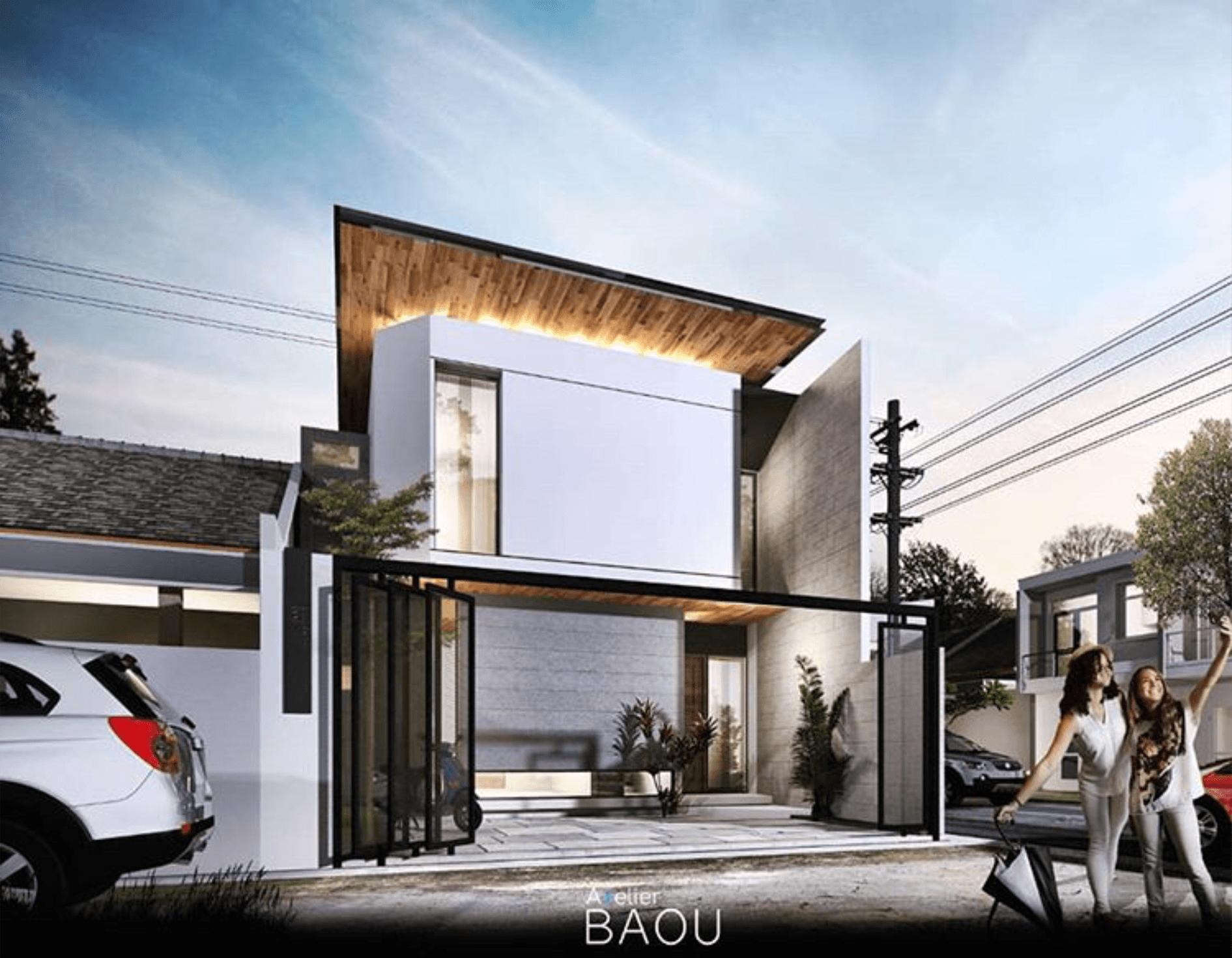 Atelier Baou Ap House Pekanbaru, Kota Pekanbaru, Riau, Indonesia Pekanbaru, Kota Pekanbaru, Riau, Indonesia Atelier-Baou-Ap-House  86493