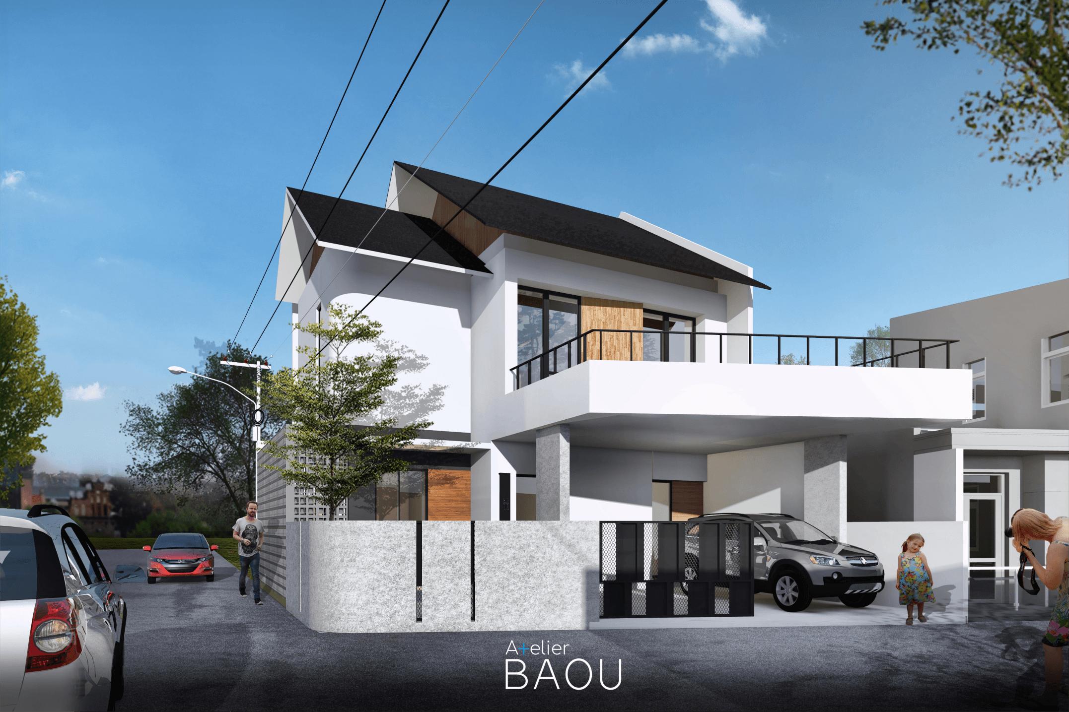 Atelier Baou Yt House Tangerang, Kota Tangerang, Banten, Indonesia Tangerang, Kota Tangerang, Banten, Indonesia Atelier-Baou-Yt-House  86494