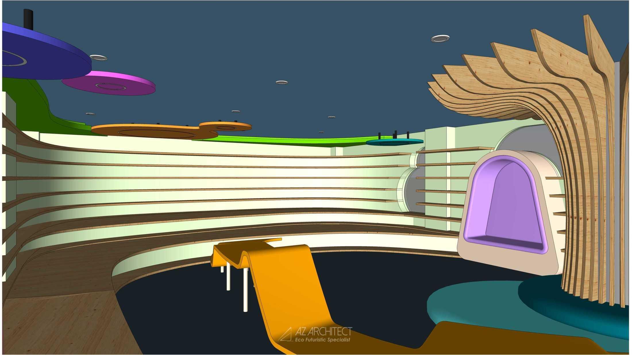 Az Architects Citra Kasih Library Jakarta, Daerah Khusus Ibukota Jakarta, Indonesia Indonesia Az-Architects-Citra-Kasih-Library  92805