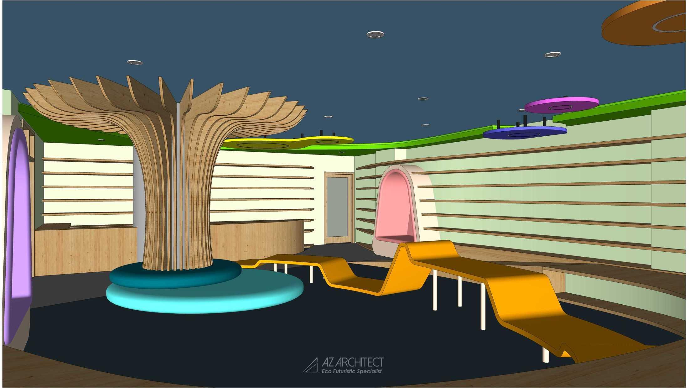 Az Architects Citra Kasih Library Jakarta, Daerah Khusus Ibukota Jakarta, Indonesia Indonesia Az-Architects-Citra-Kasih-Library  92806