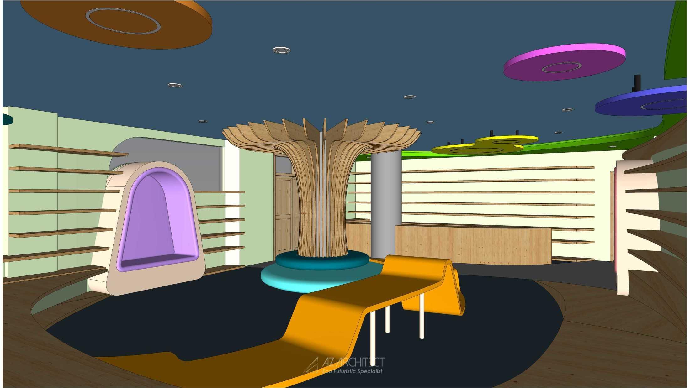 Az Architects Citra Kasih Library Jakarta, Daerah Khusus Ibukota Jakarta, Indonesia Indonesia Az-Architects-Citra-Kasih-Library  92809
