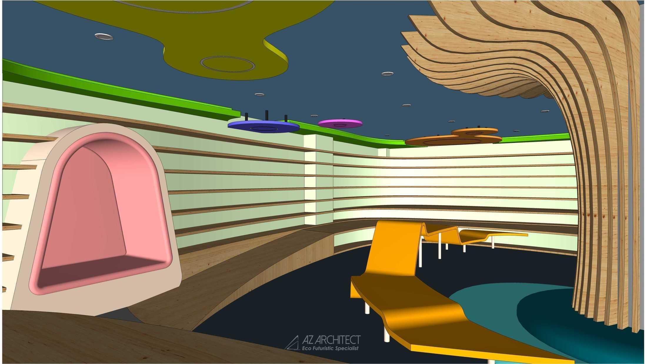 Az Architects Citra Kasih Library Jakarta, Daerah Khusus Ibukota Jakarta, Indonesia Indonesia Az-Architects-Citra-Kasih-Library  92810