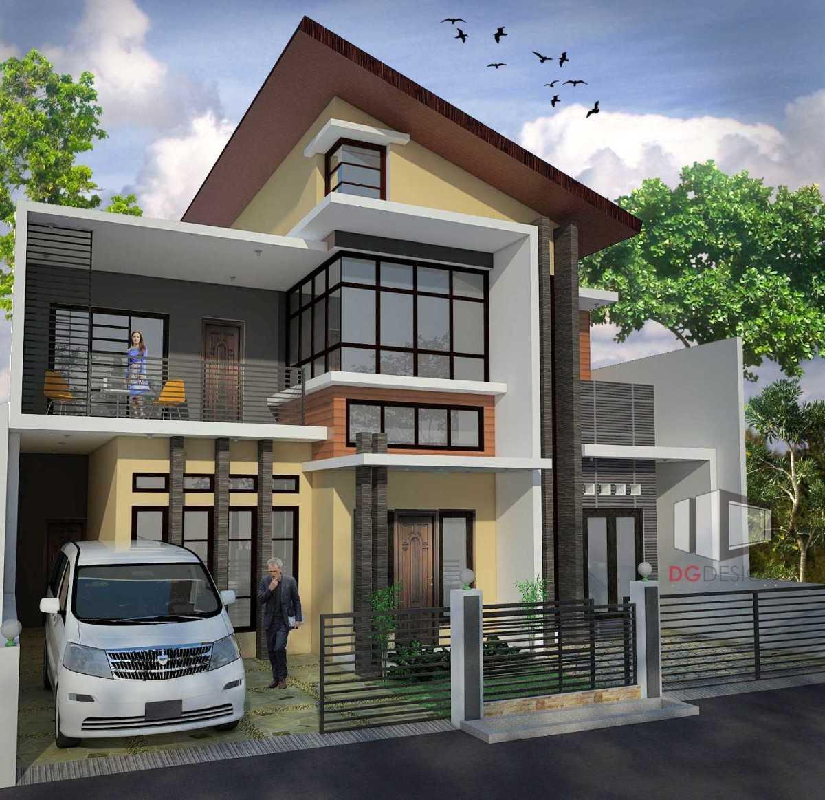 Ruang Direktur: Photo Dg-design-arsitektur-rumah-modern-bp-depok Rumah