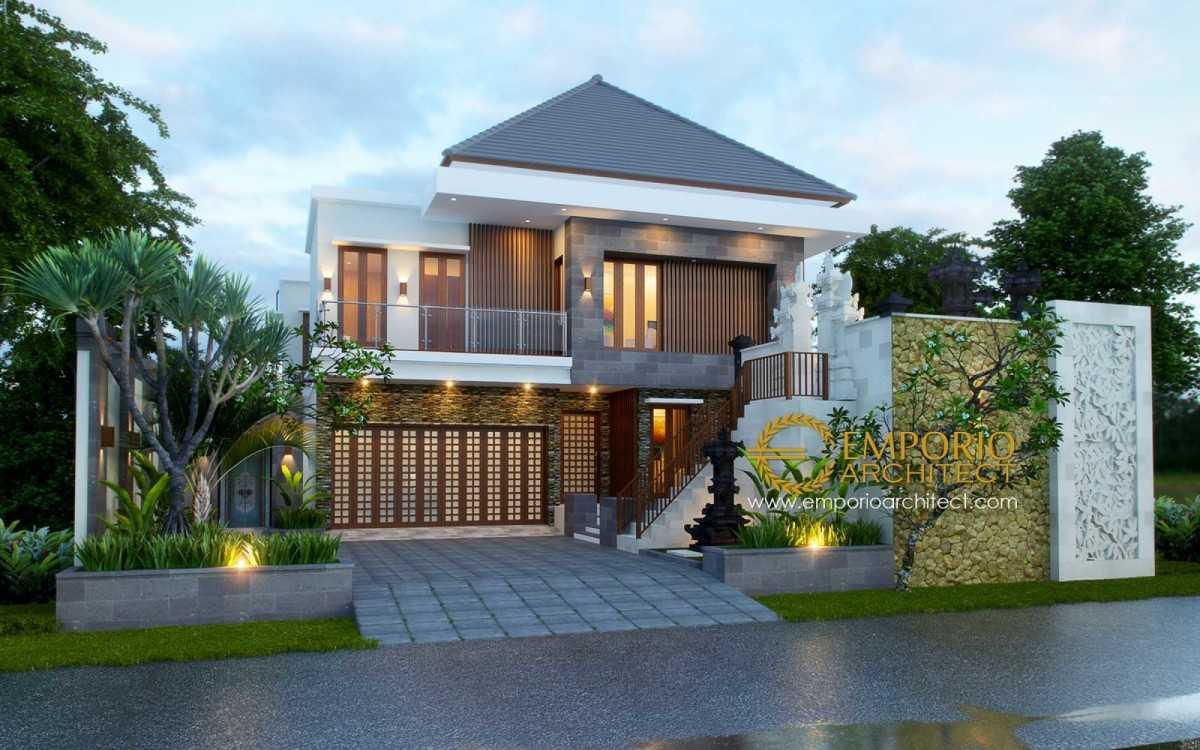 Project Desain Rumah Villa Bali Tropis 380 Denpasar Bali Desain Arsitek Oleh Emporio Architect Arsitag