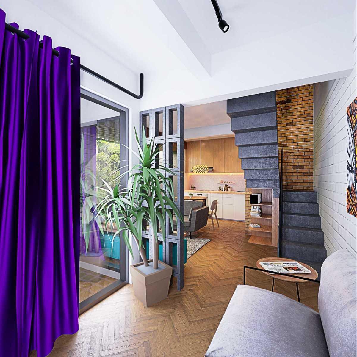 Ruang Direktur: Photo Gubah-ruang-studio-rumah-dedet Rumah Dedet 6 Desain