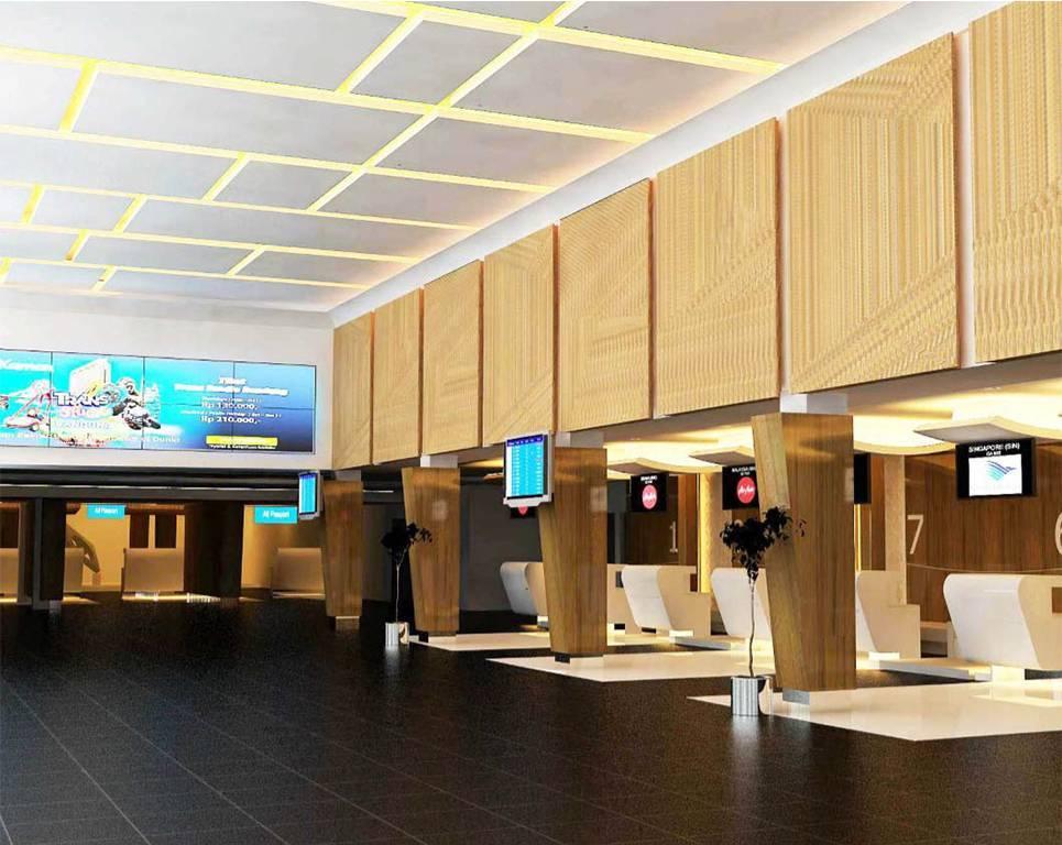 Giat Husein Sastranegara International Airport Interior Bandung, Idn Bandung, Idn Check-In-Area   1148